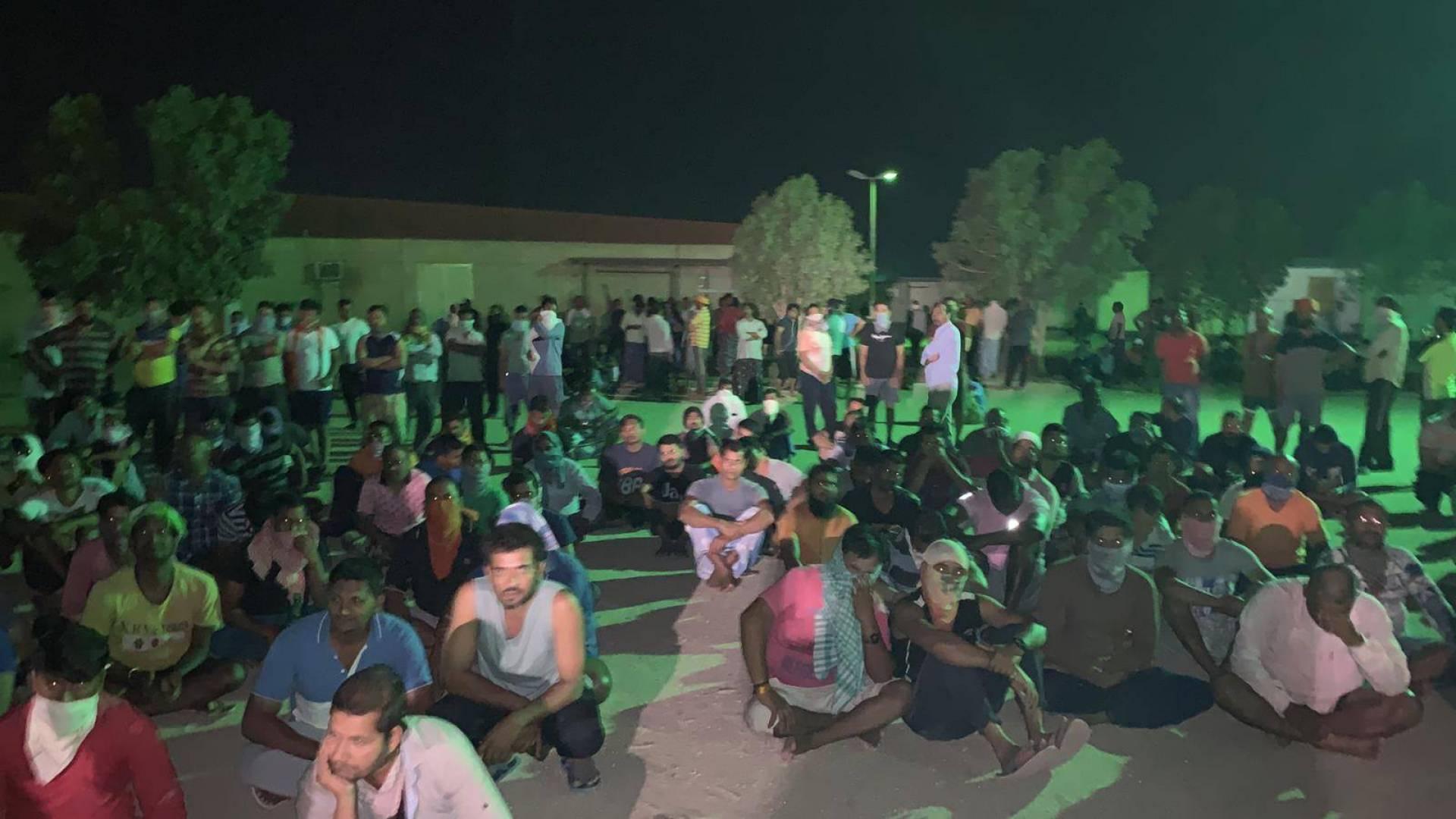 إضراب عمالي في العبدلي لتأخر الرواتب 4 أشهر