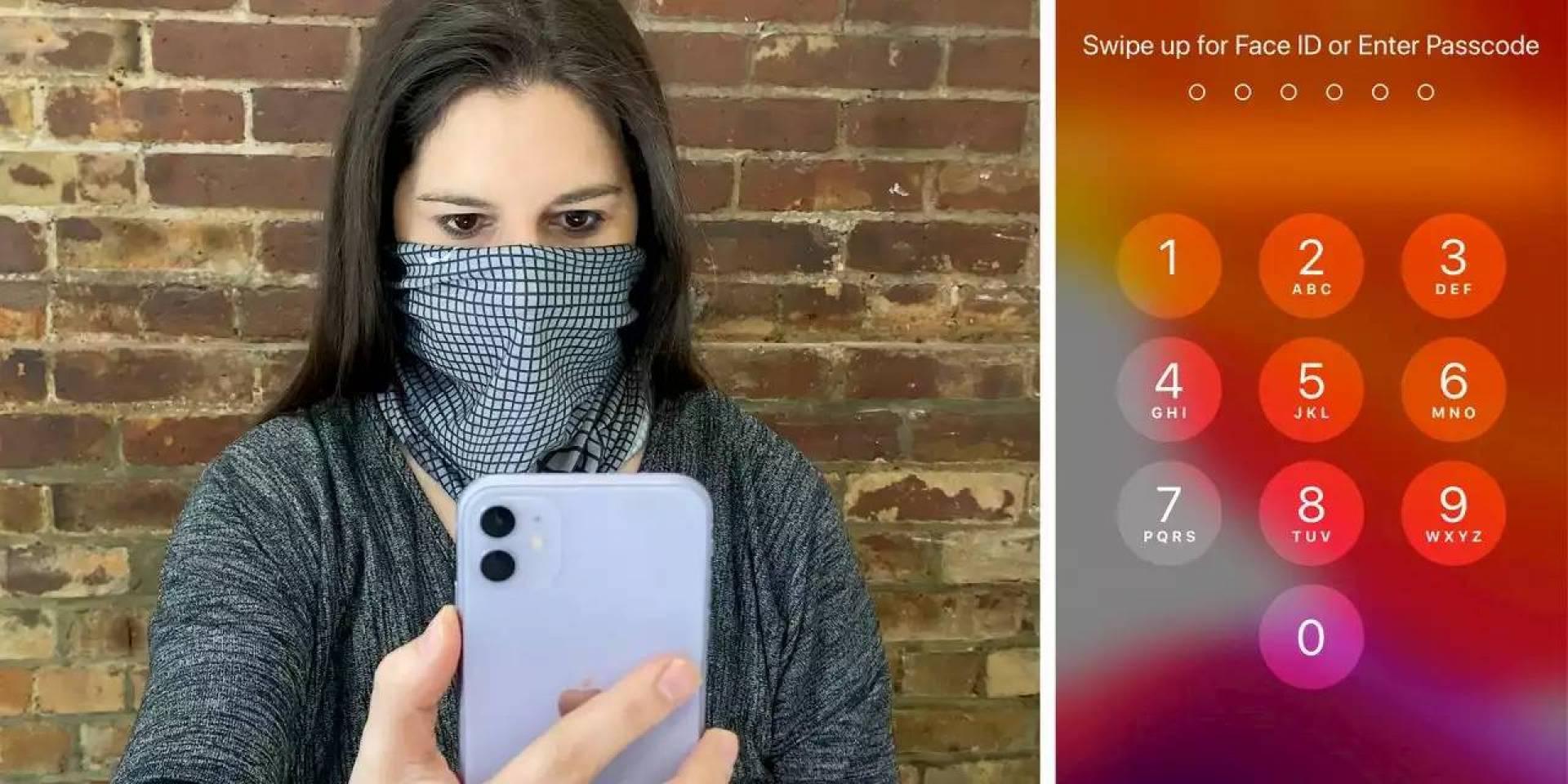 آبل تطلق تحديثاً يسهل إلغاء قفل هواتف آيفون أثناء ارتداء الكمامة
