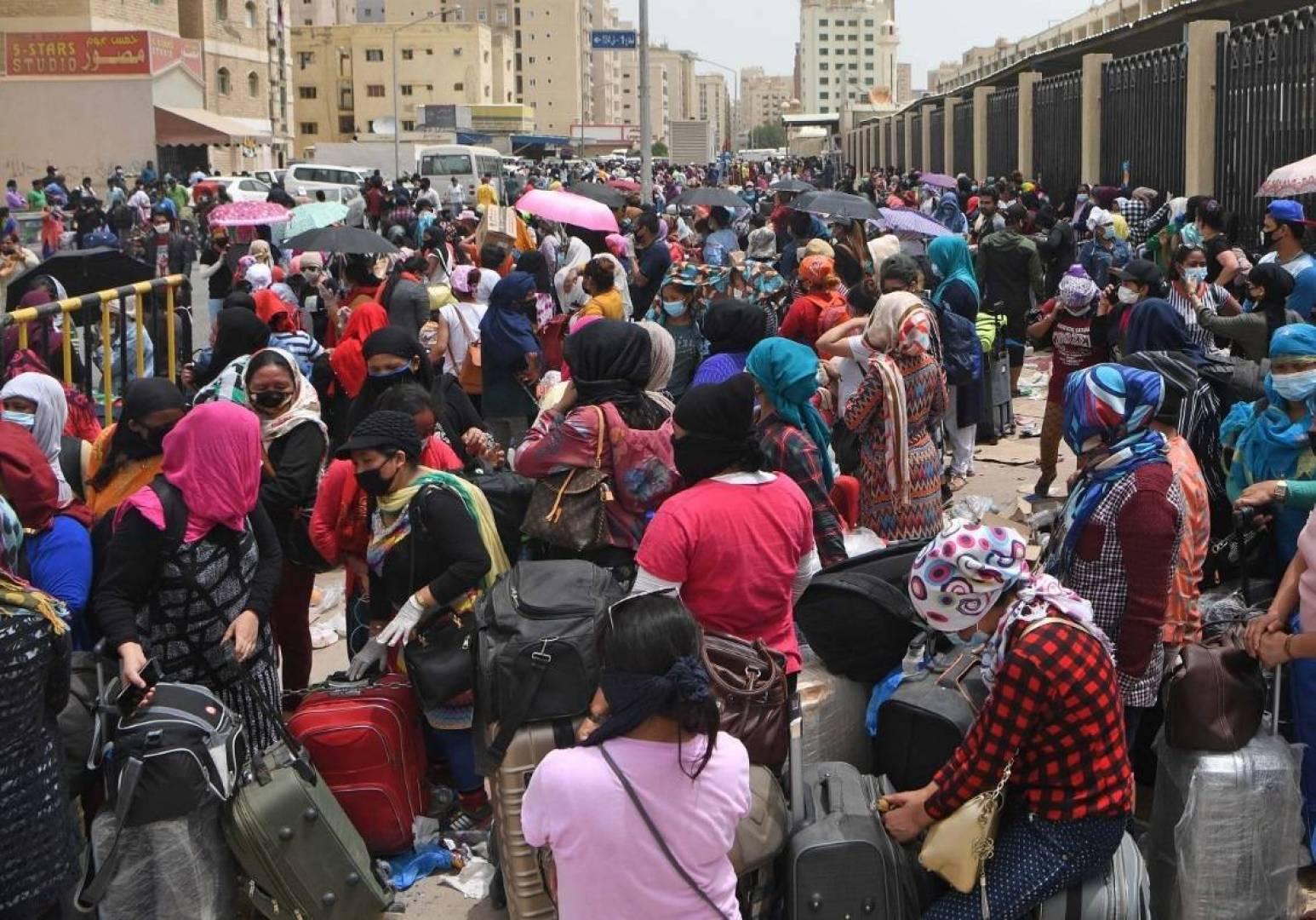 مصدر لـ «القبس»: 15 ألف مخالف للإقامة.. دخلوا مراكز الإيواء