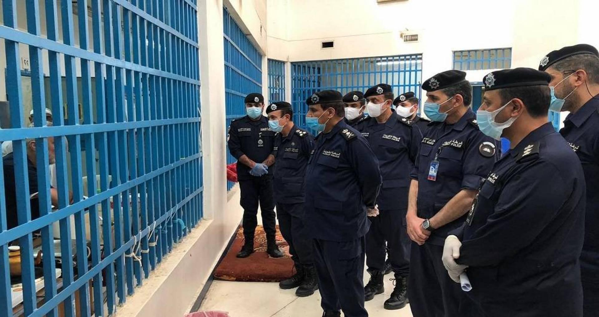 الفريق عصام النهام تفقد المؤسسات الإصلاحية واطلع على إجراءات منع تفشي كورونا