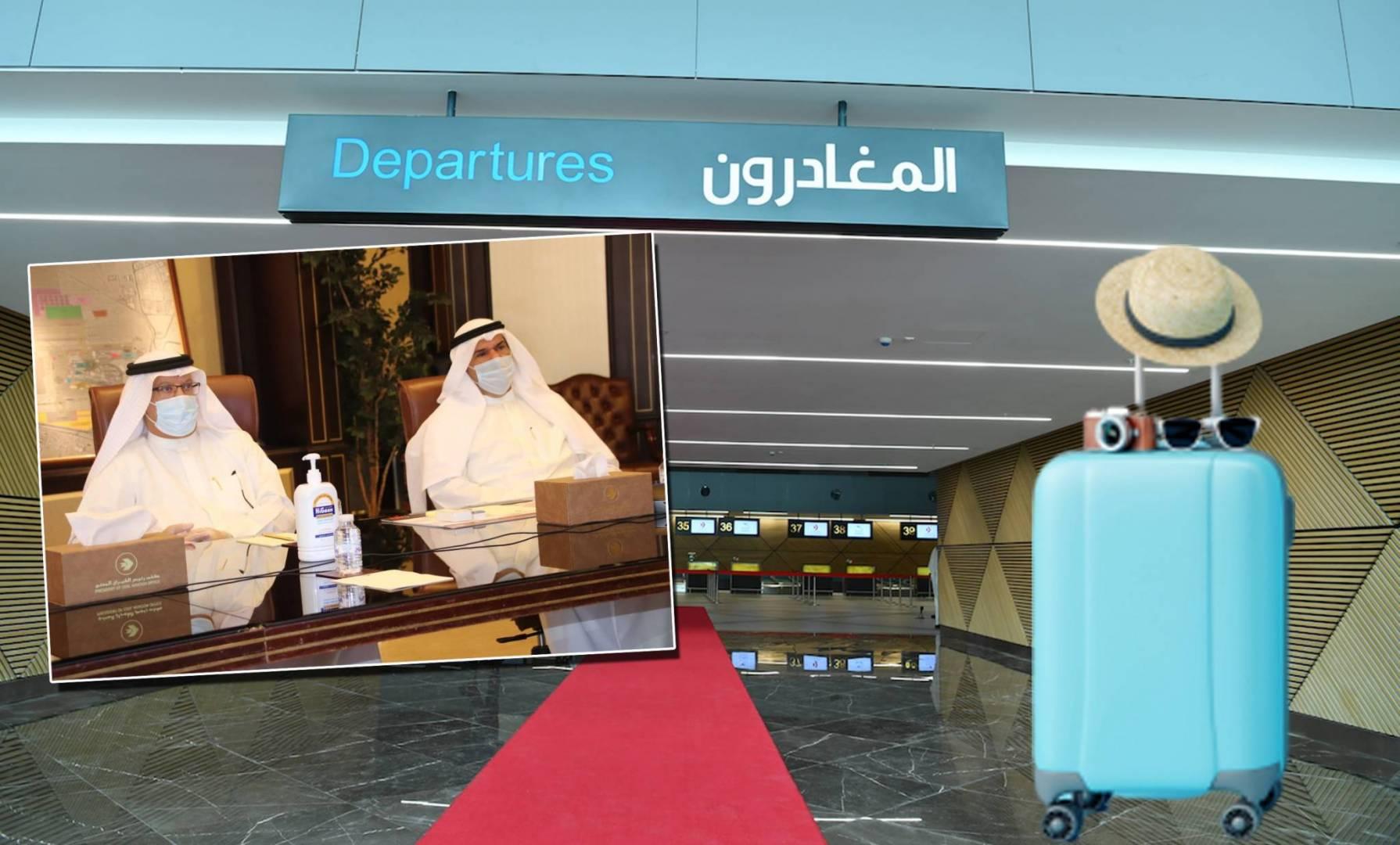 تشغيل المطار على 3 مراحل.. الأولى بـ%30 والثانية بـ 60%