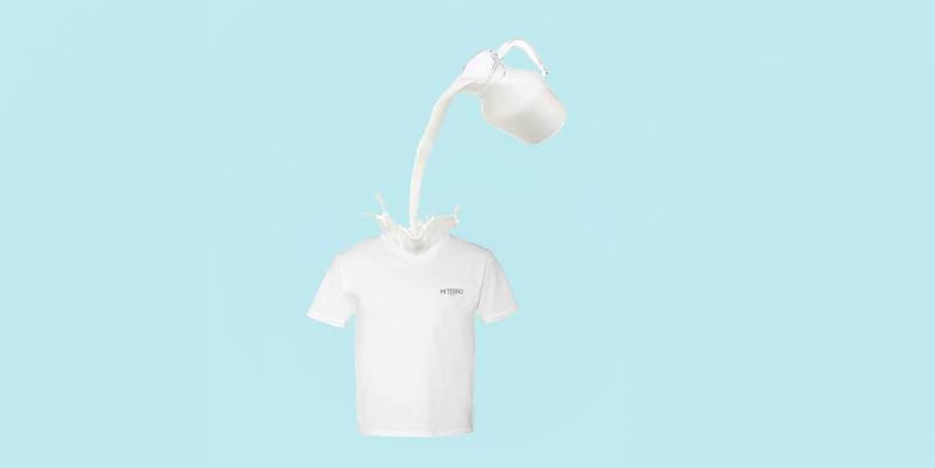 T-Shirt.. من الحليب!