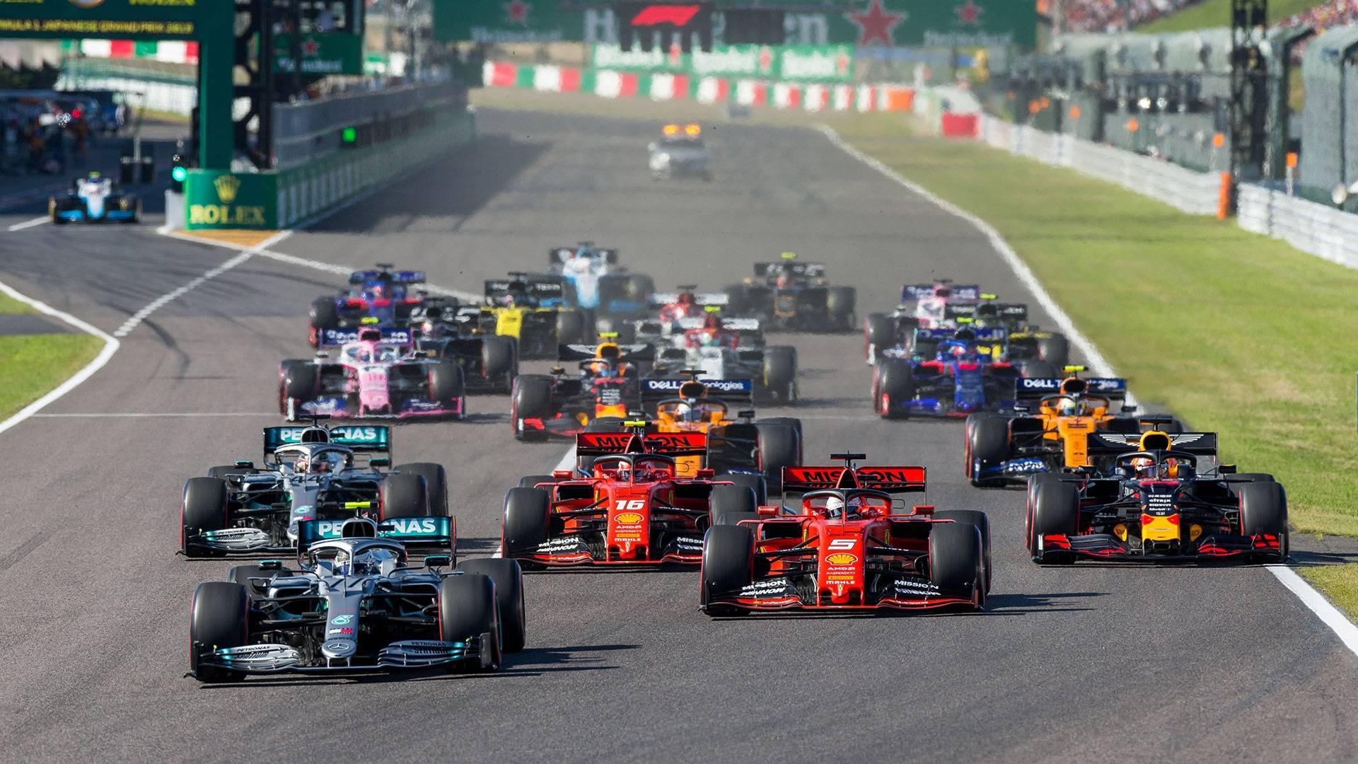 إلغاء سباقات فورمولا 1 للسيارات بأذربيجان وسنغافورة واليابان هذا العام