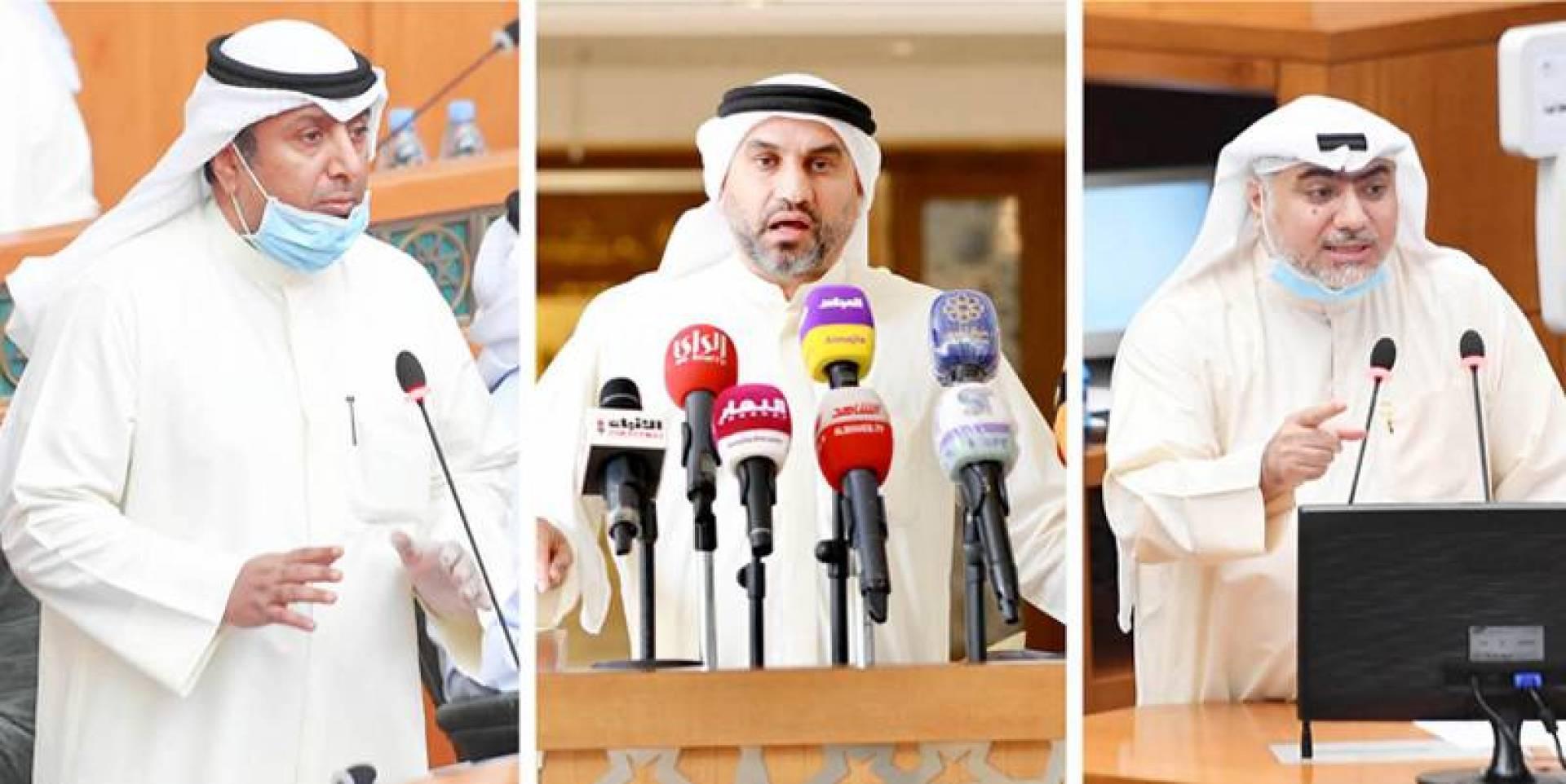 خالد الشطي - عبدالله الكندري - بدر الملا
