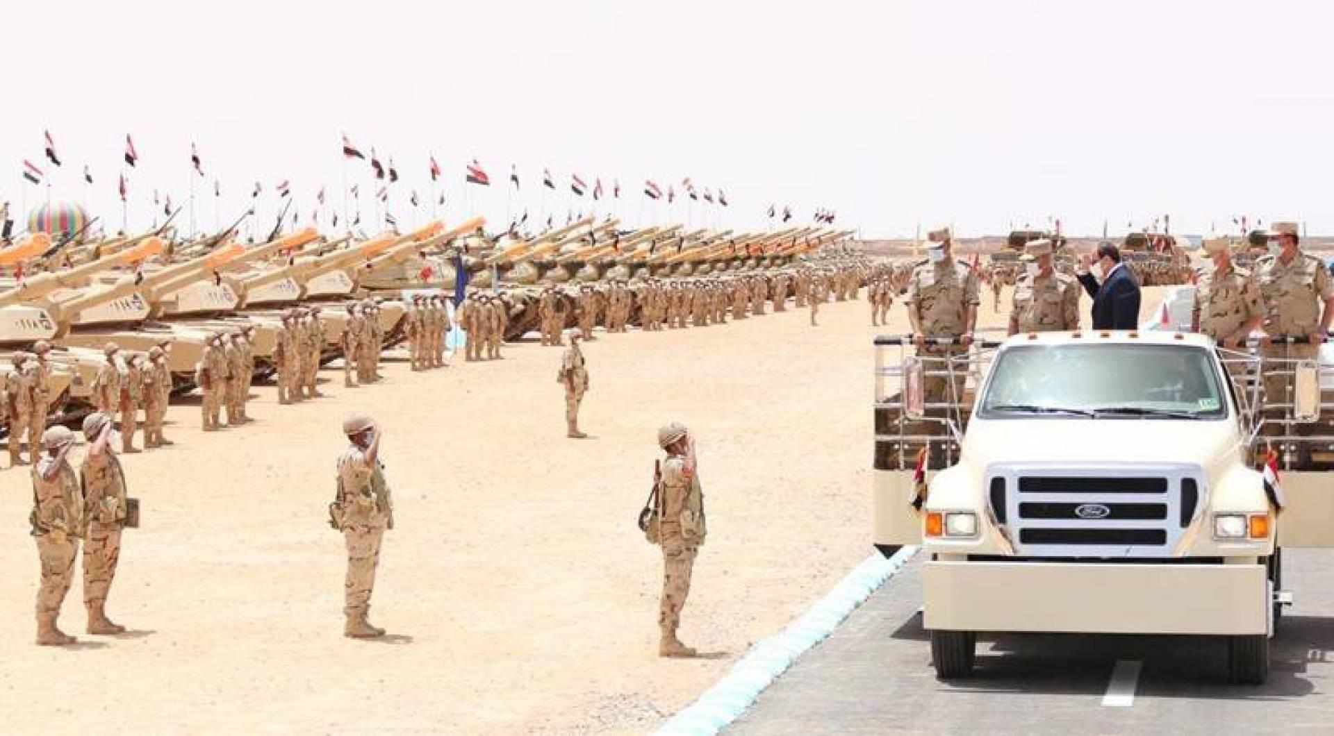 السيسي هدد بالتدخل العسكري المباشر للجيش المصري في ليبيا