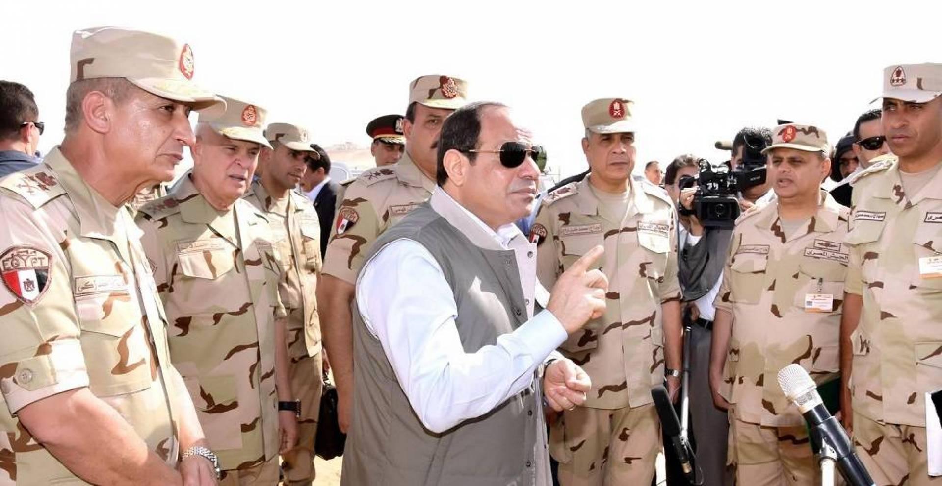 السيسي: أي تدخل مباشر مصري في ليببا بات شرعيا