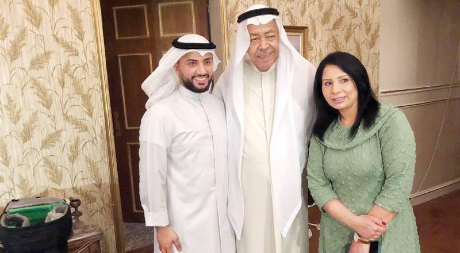 عبدالمحسن الروضان وسعد الفرج ومي البلوشي من كواليس «إفراج مشروط»