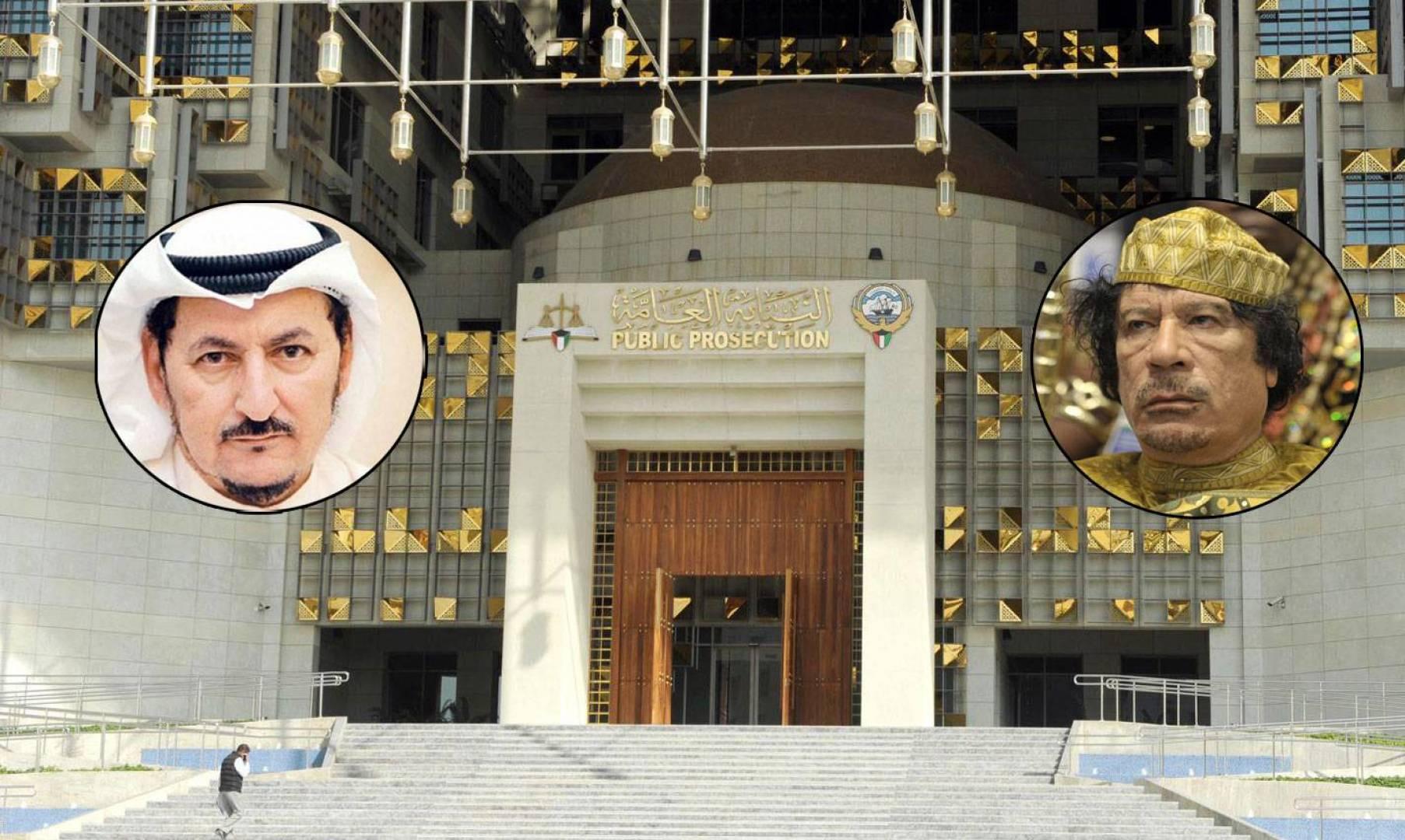 النائب العام يأمر بضبط وإحضار مبارك الدويلة بسبب تسريبات القذافي