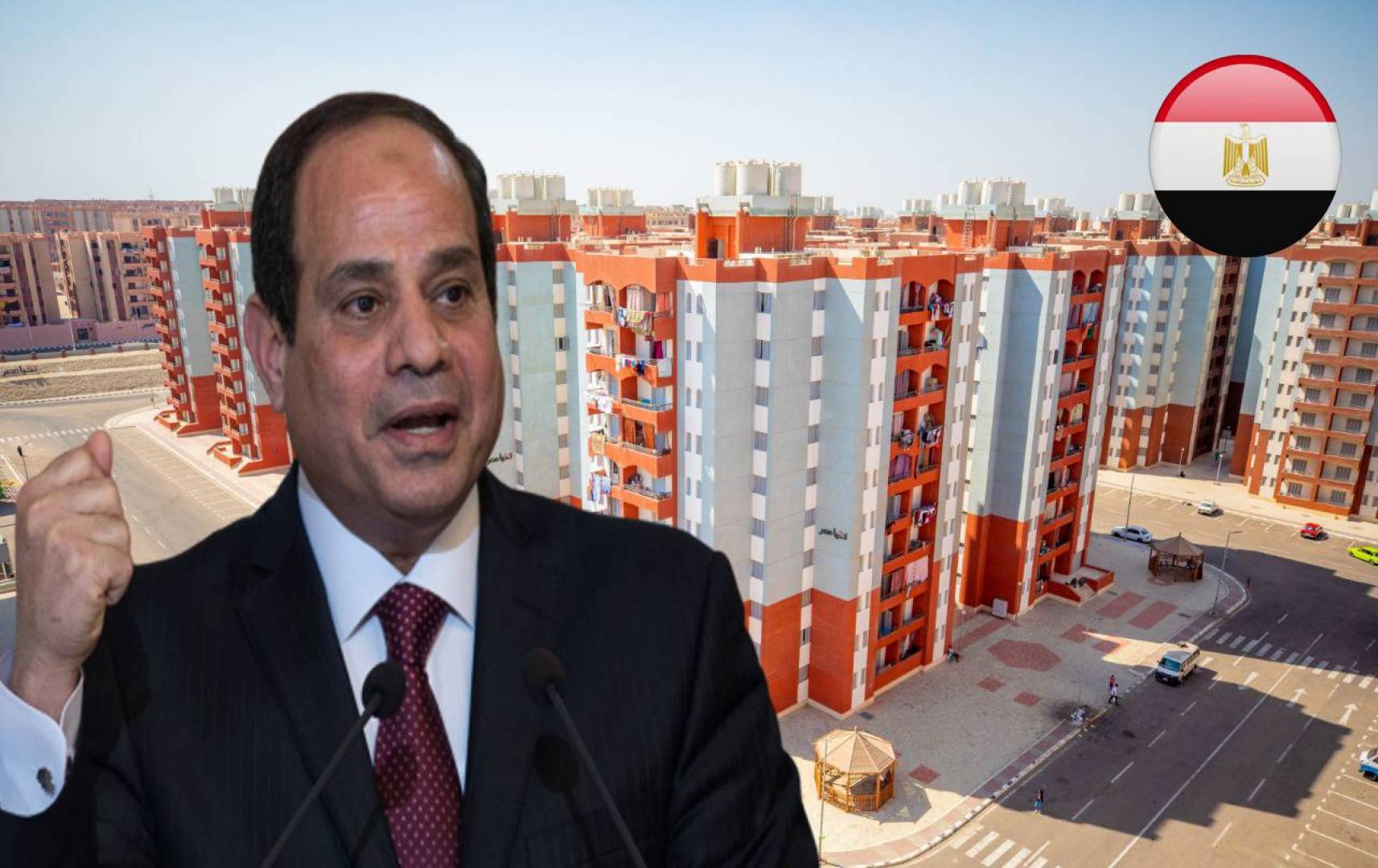 السيسي للمصريين: كل مواطن يطلب شقة.. سيحصل عليها