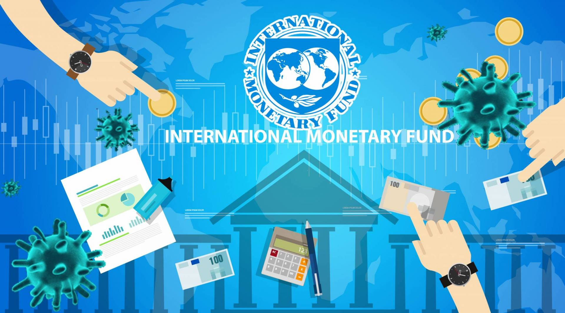 صندوق النقد: نتوقع أكبر تراجع في اقتصادات الشرق الأوسط.. بسبب كورونا