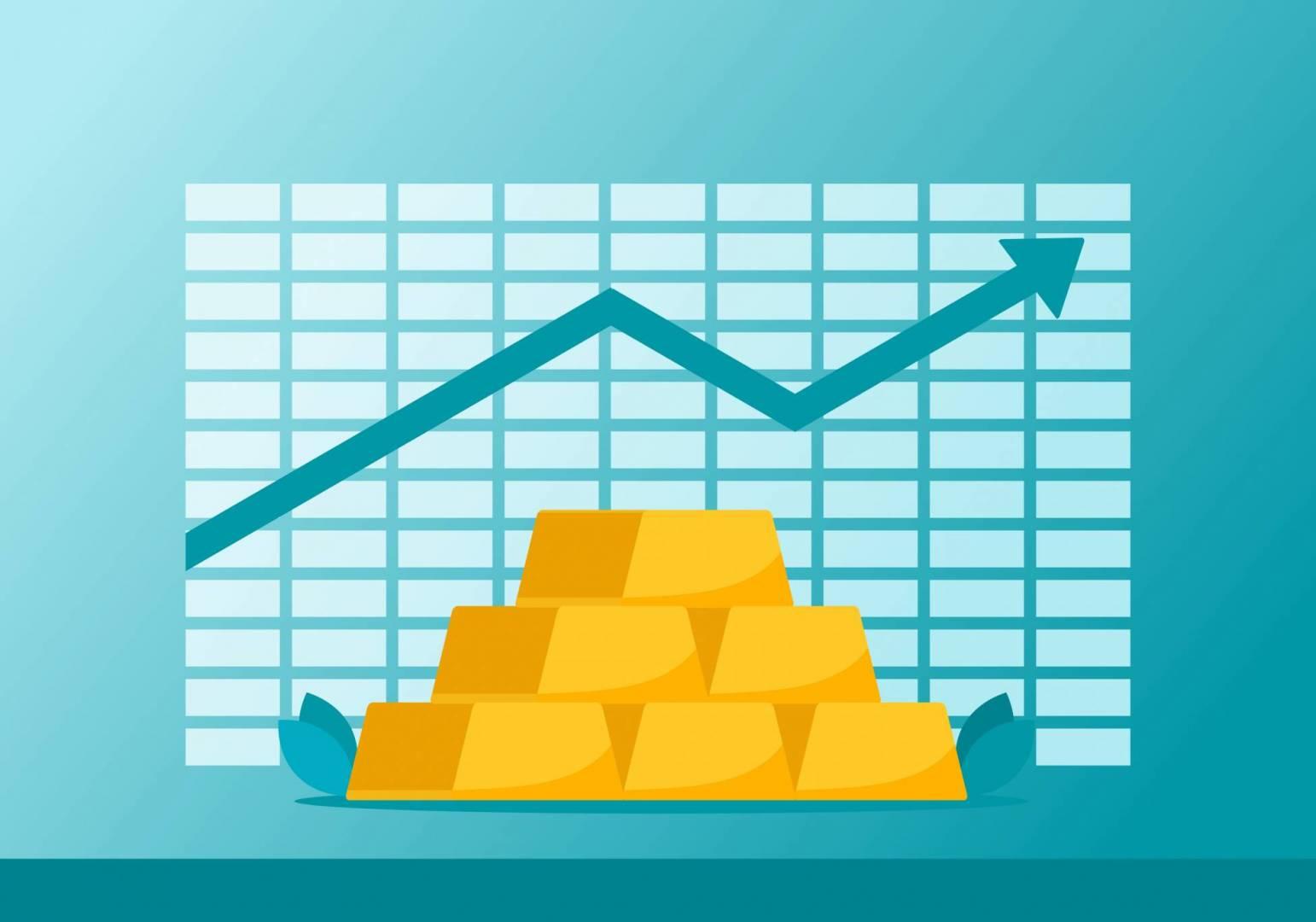 الذهب يحوم فوق 1800 دولار.. بفعل مخاوف كورونا وهبوط الدولار