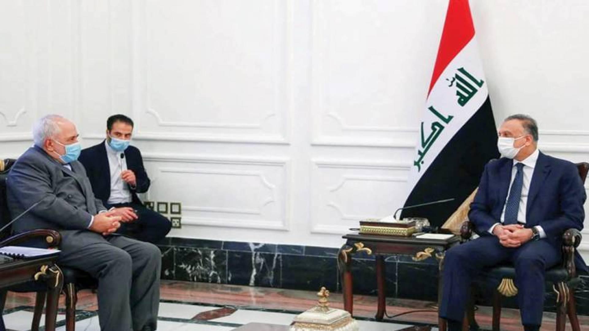 ظريف في بغداد هل أبلغها محاذير طهران