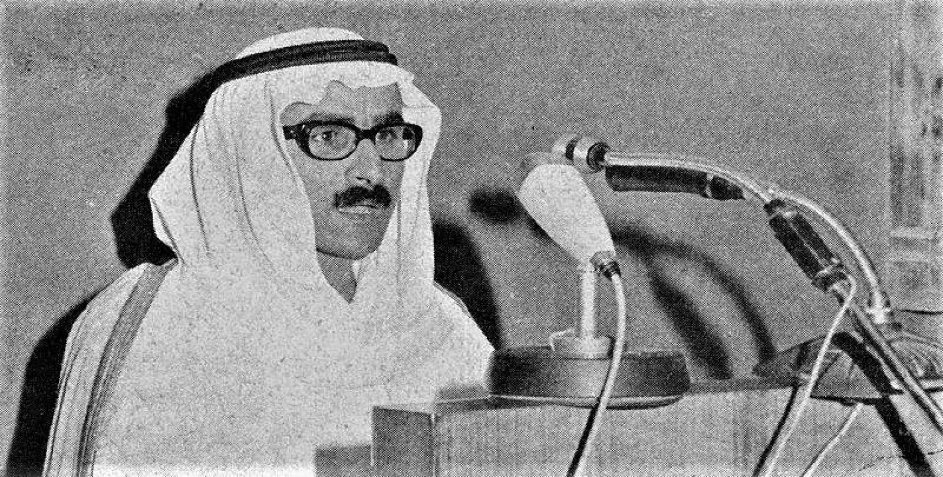 عيسى ياسين وكيل وزارة الشؤون الاجتماعية والعمل المساعد يلقي كلمته.. أرشيفية