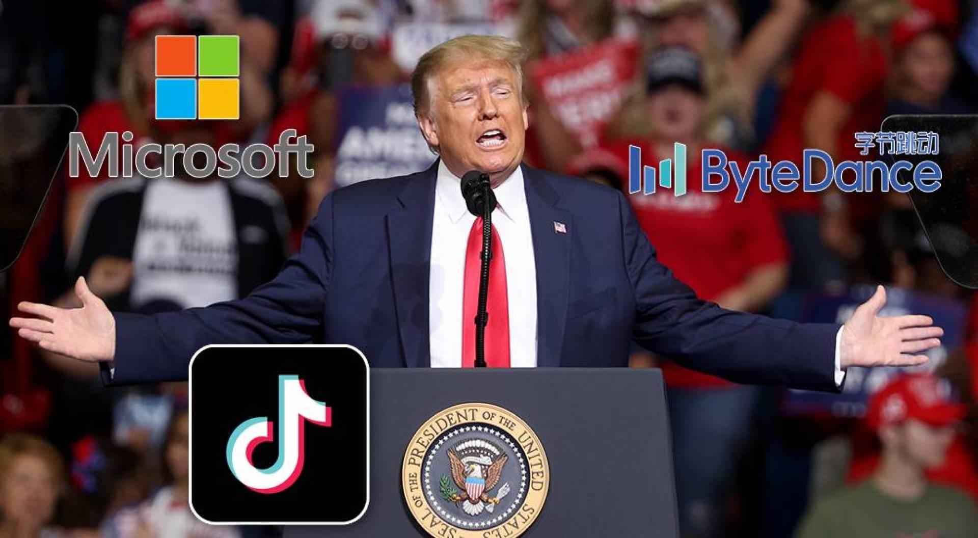 ترامب يدرس حظر «TikTok» في الولايات المتحدة.. ومايكروسوفت تتأهب لشراء التطبيق
