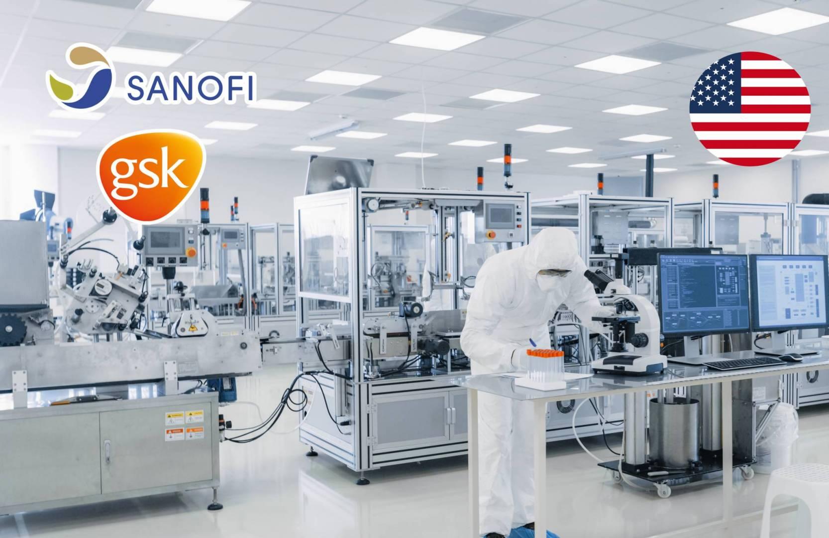«Sanofi» و«GSK» ستحصلان على 2.1 مليار دولار من أميركا لدعم تطوير لقاح «كورونا»