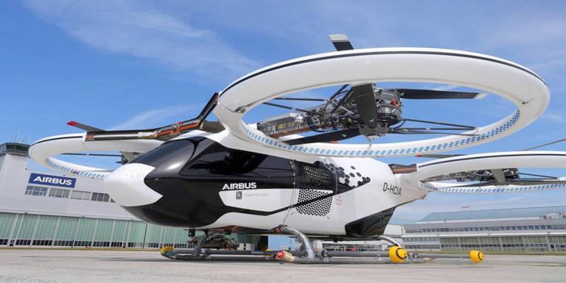 «CityAirbus».. تاكسي طائر ينطلق في سماء ألمانيا