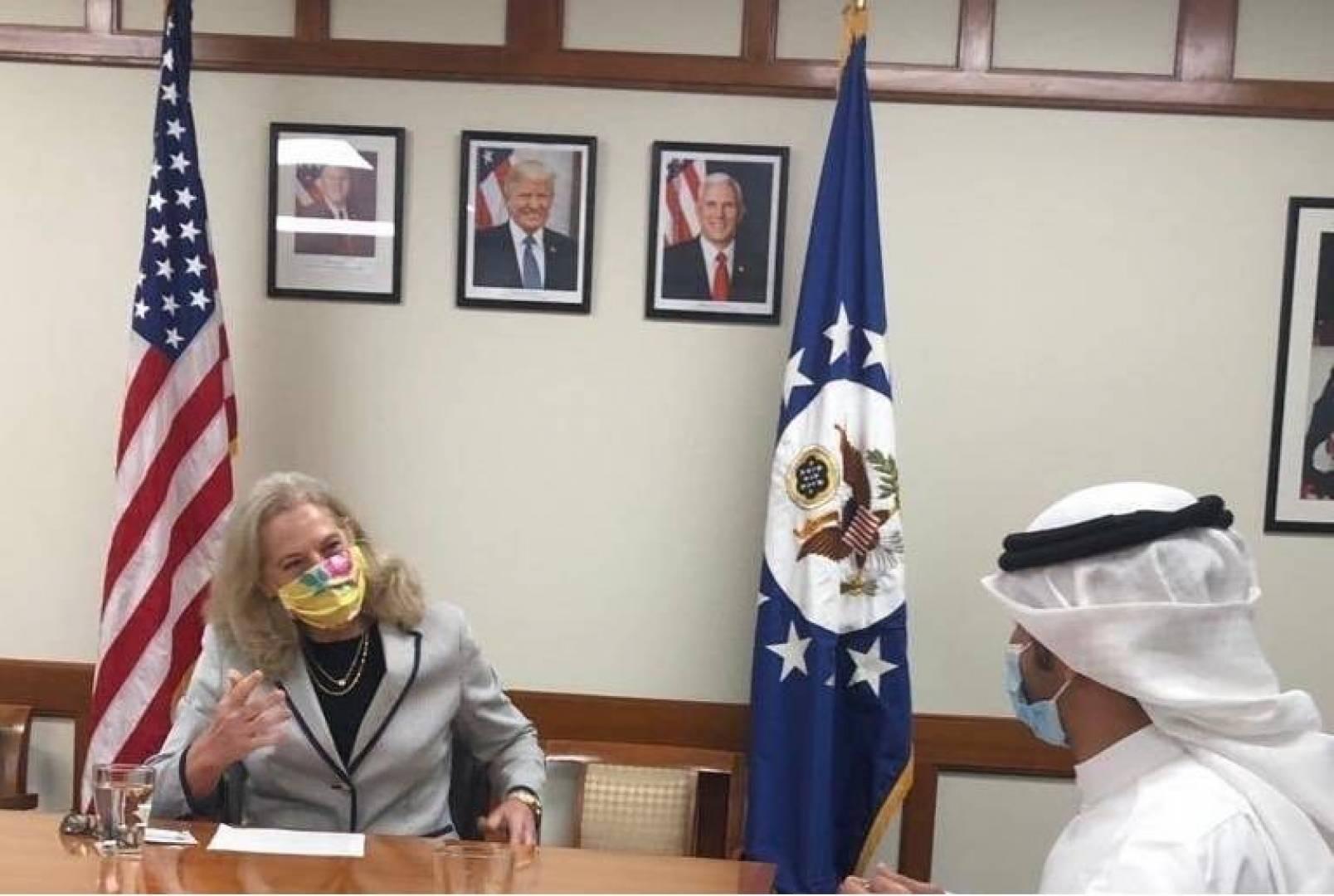 السفيرة الأميركية: روابطنا مع الكويت متينة ونتطلع لمزيد من الشراكة مستقبلاً