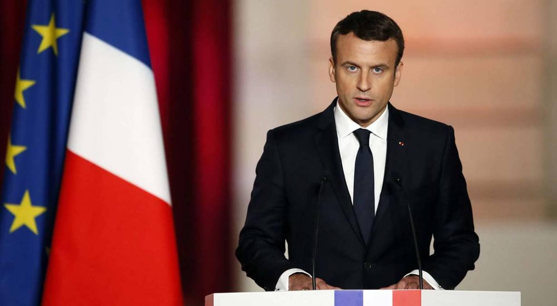 ماكرون: فرنسا سترسل أطناناً من المعدّات الطبية إلى لبنان بعد انفجار بيروت