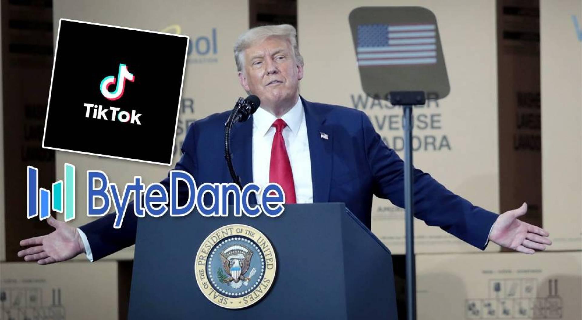 ترامب يحظر التعامل مع الشركات الصينية المالكة لتطبيقي «تيك توك» و «وي تشات»