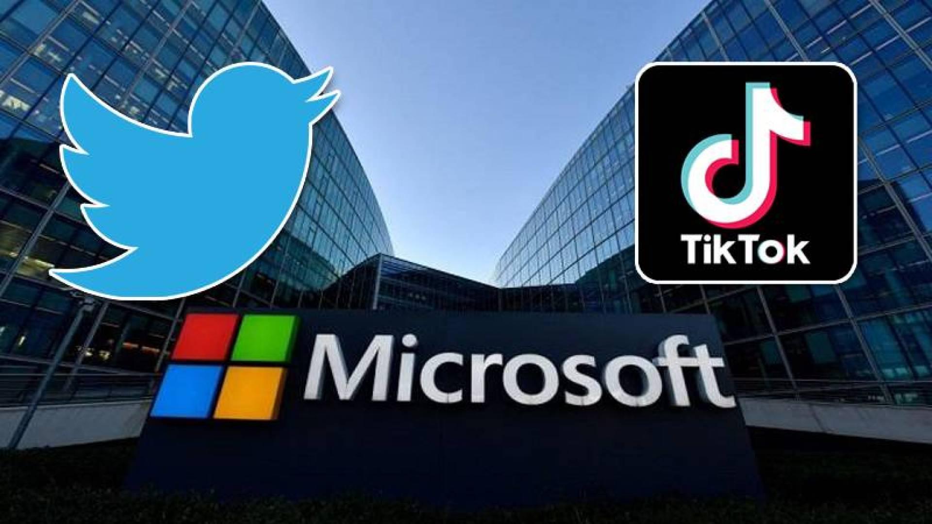 «تويتر» تزاحم «مايكروسوفت» في صفقة الاستحواذ على «تيك توك»