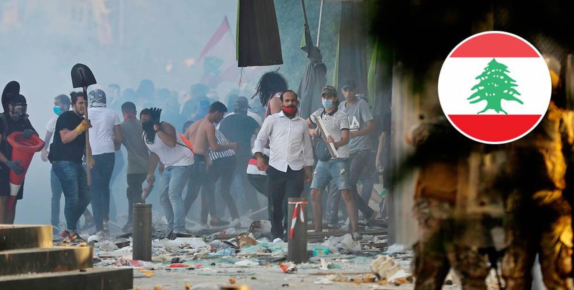 لبنان.. اقتحام مبنى وزارة الاقتصاد من قبل المتظاهرين