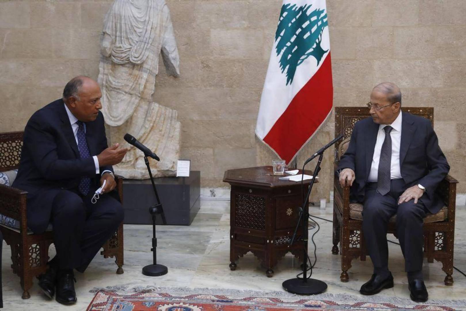 الرئاسة اللبنانية: مصر ستوفر جسراً جوياً للإغاثة وجسراً بحرياً للإعمار