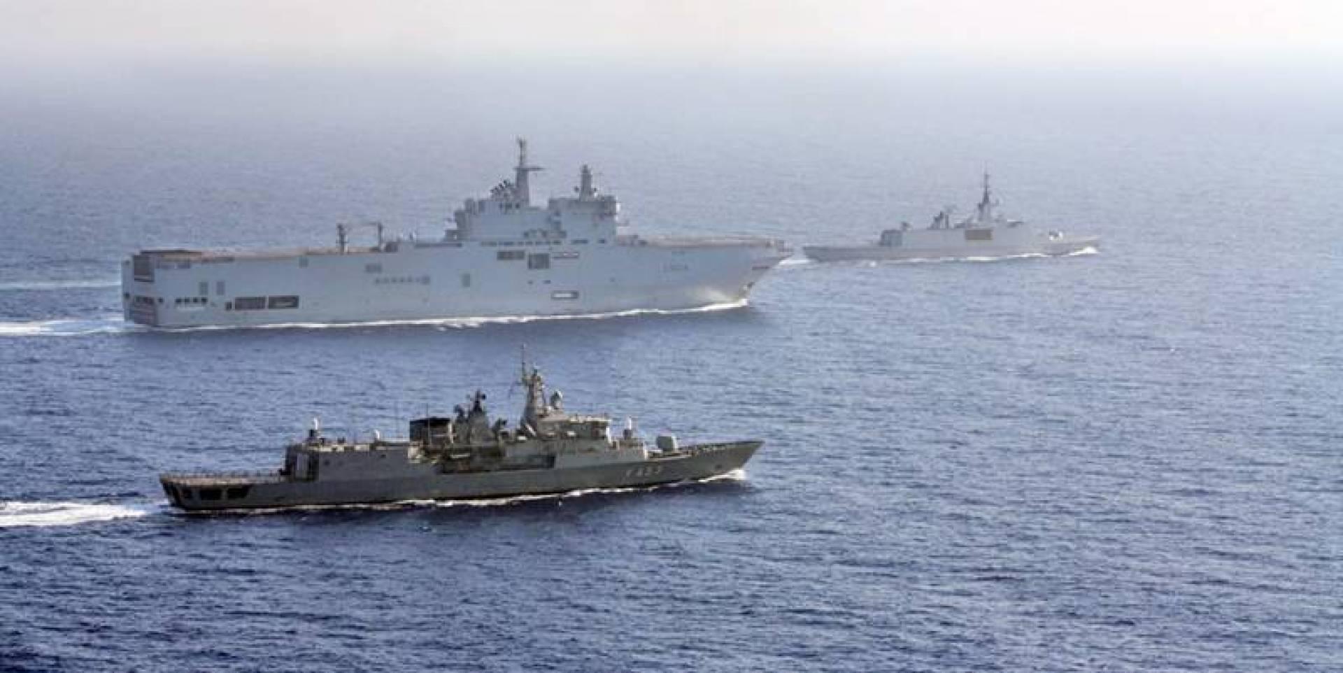 فرنسا تُبرز قوتها لتركيا.. شرق المتوسط