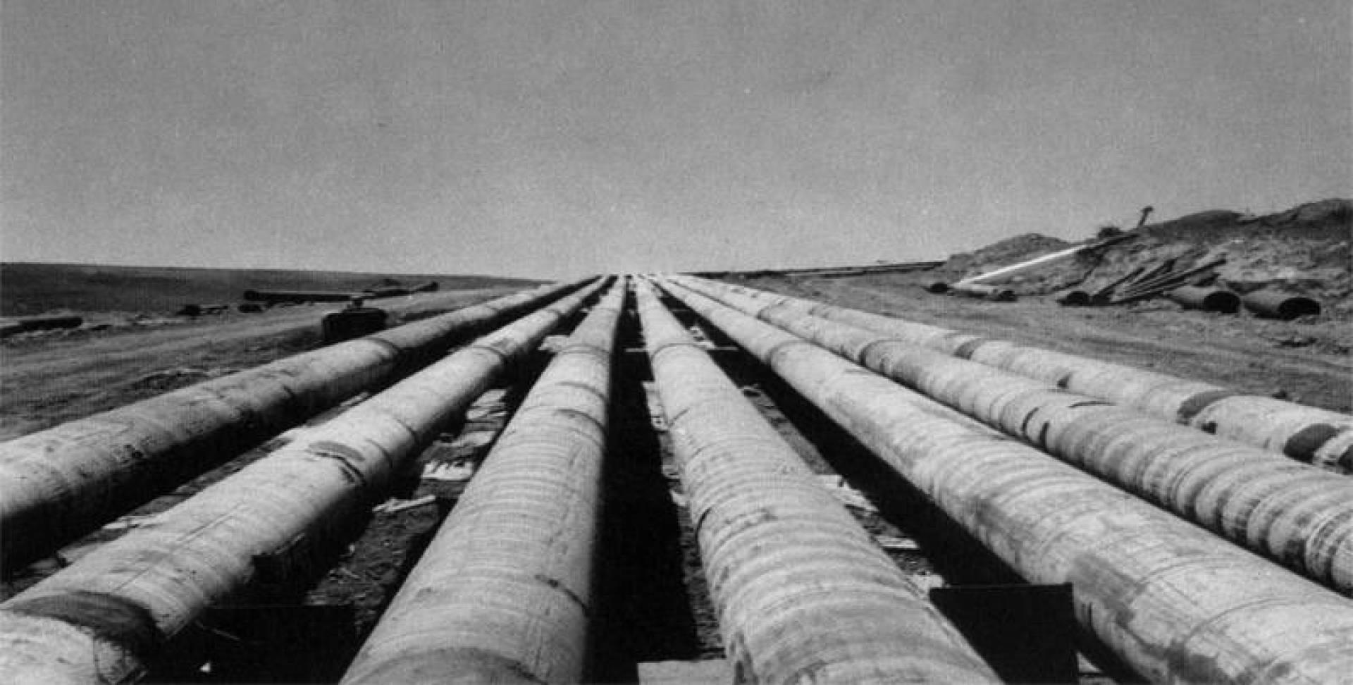 أنابيب النفط الجزائري.. أرشيفية
