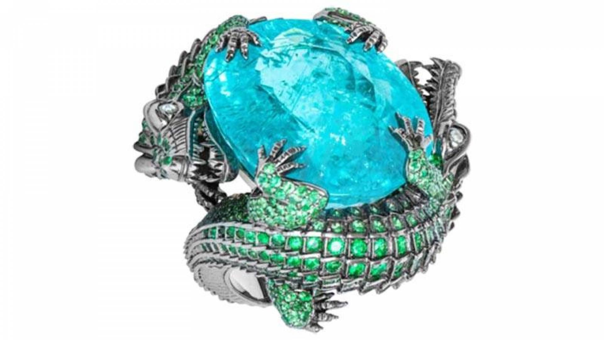 «خاتم التمساح».. سعره 600 ألف دولار