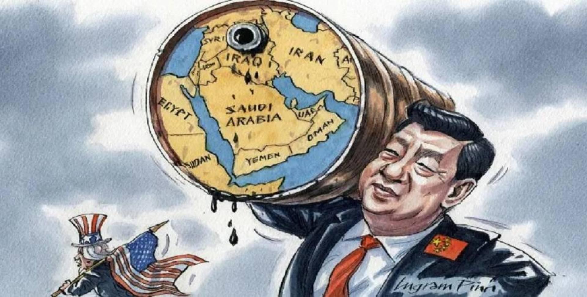 فايننشال تايمز: بدون رصاصة واحدة.. هكذا ابتلعت الصين «الشرق الأوسط»