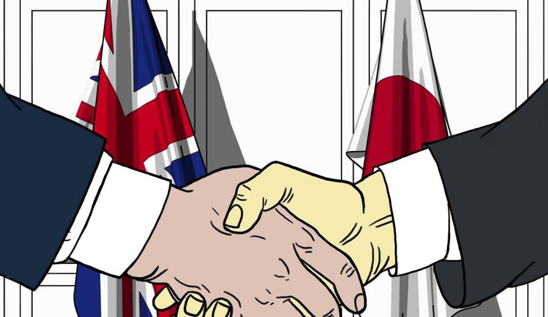 بريطانيا واليابان.. أول اتفاق تجاري لمرحلة ما بعد بريكست