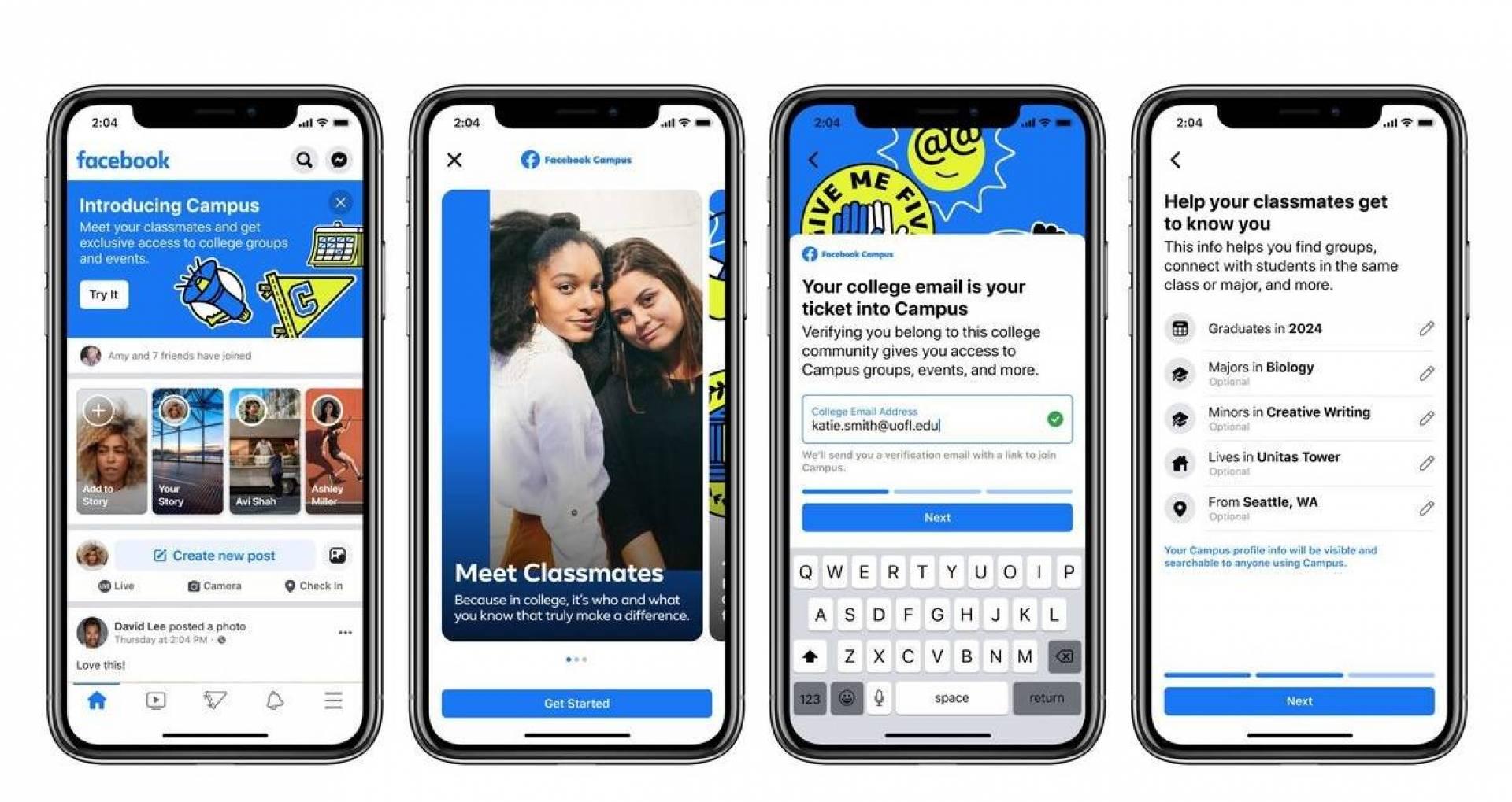 «Facebook Campus».. منصة جديدة من فيسبوك لطلبة الجامعات