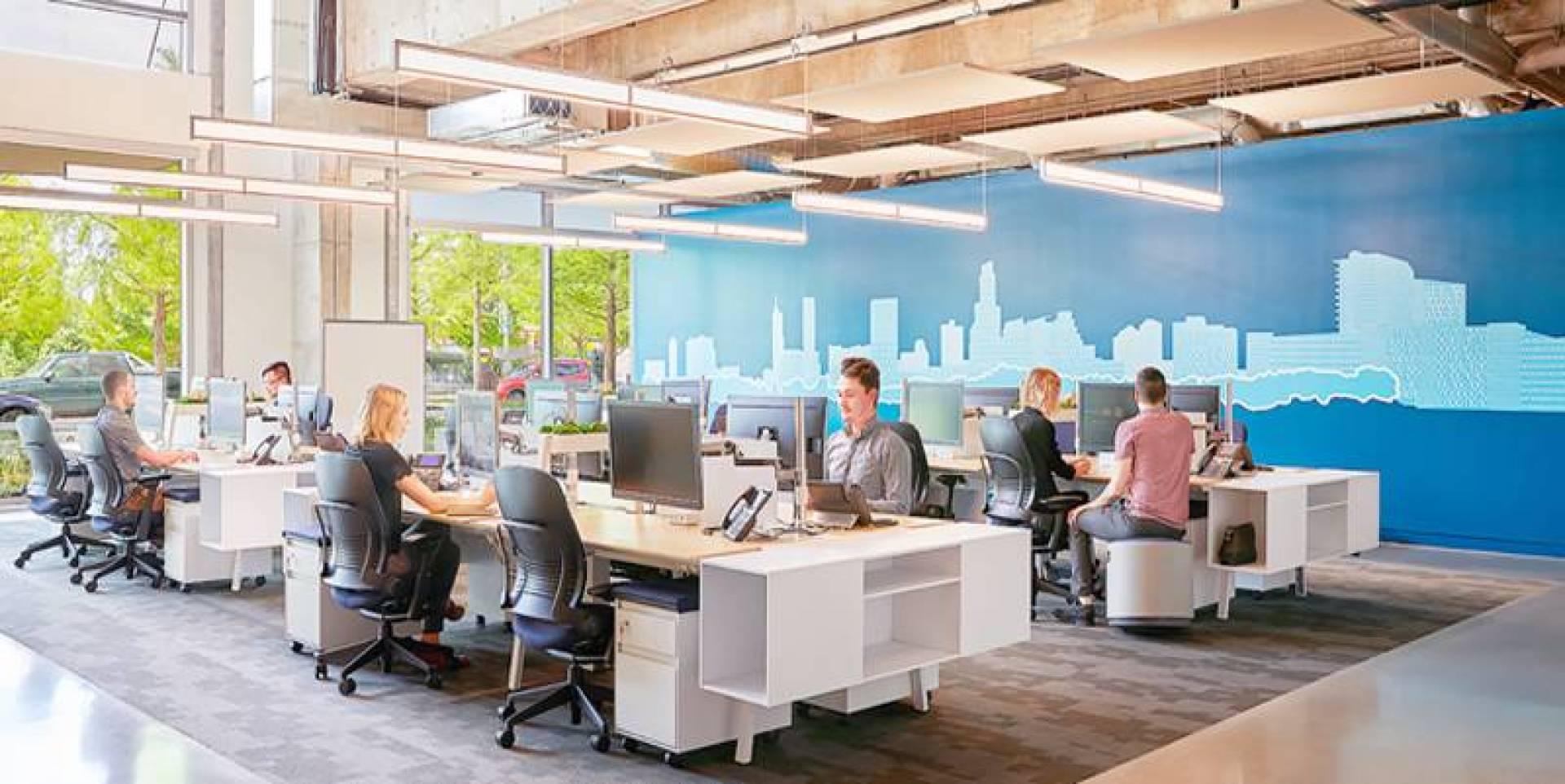 المكتب مهم ويعد أداة للترابط الاجتماعي في المؤسسة