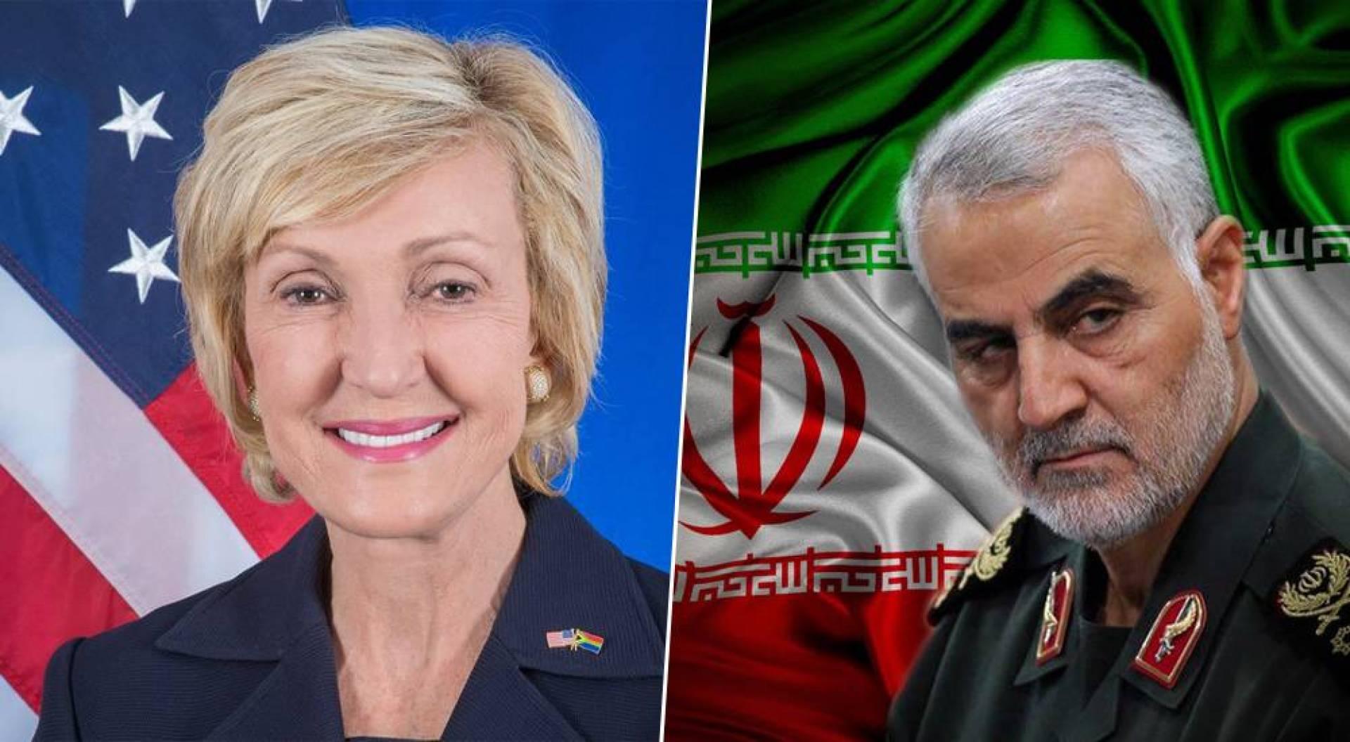 إيران تخطط لاغتيال السفيرة الأميركية في جنوب إفريقيا انتقاماً لقاسم سليماني