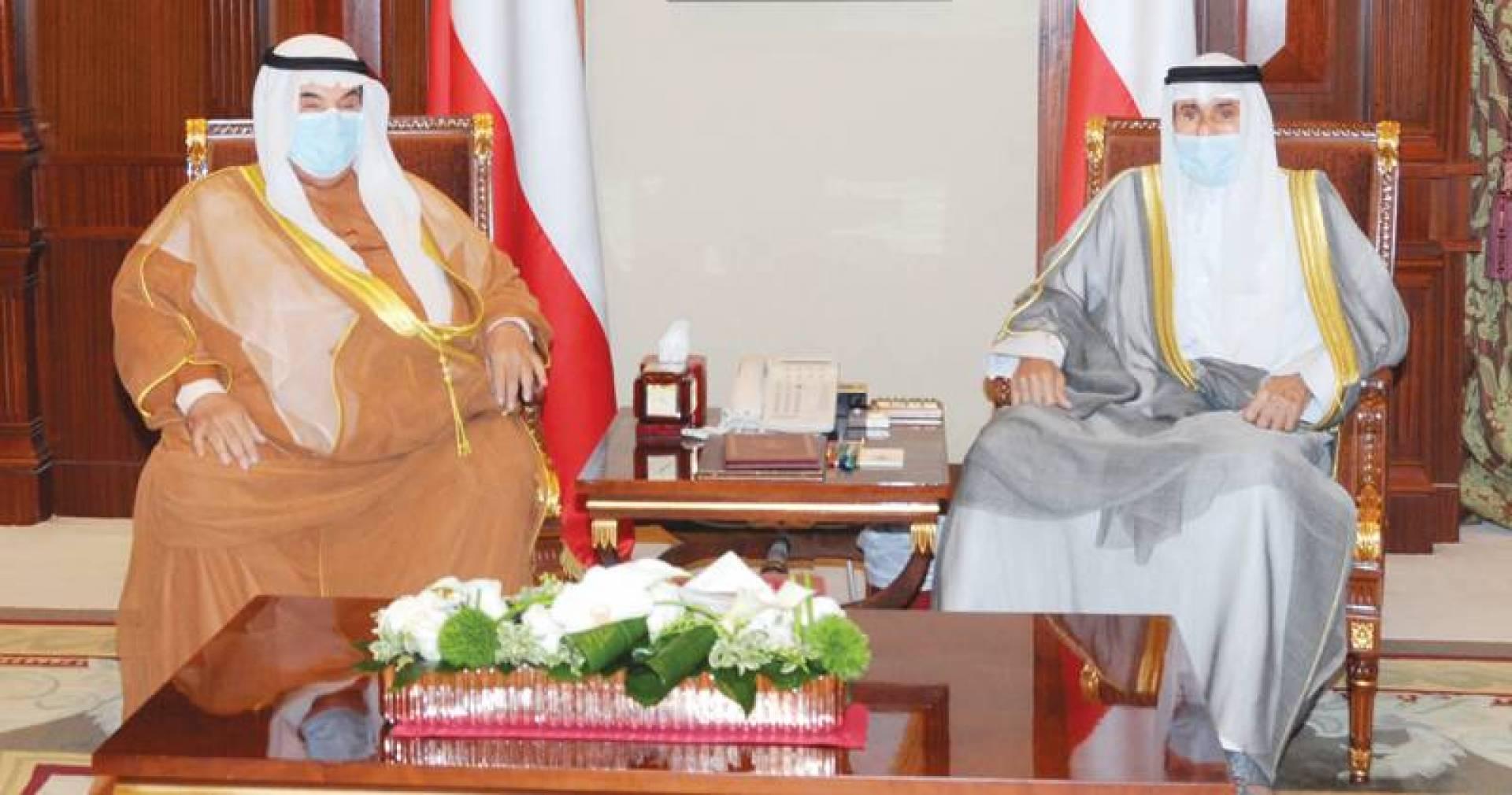 نائب الأمير مستقبلاً ناصر المحمد