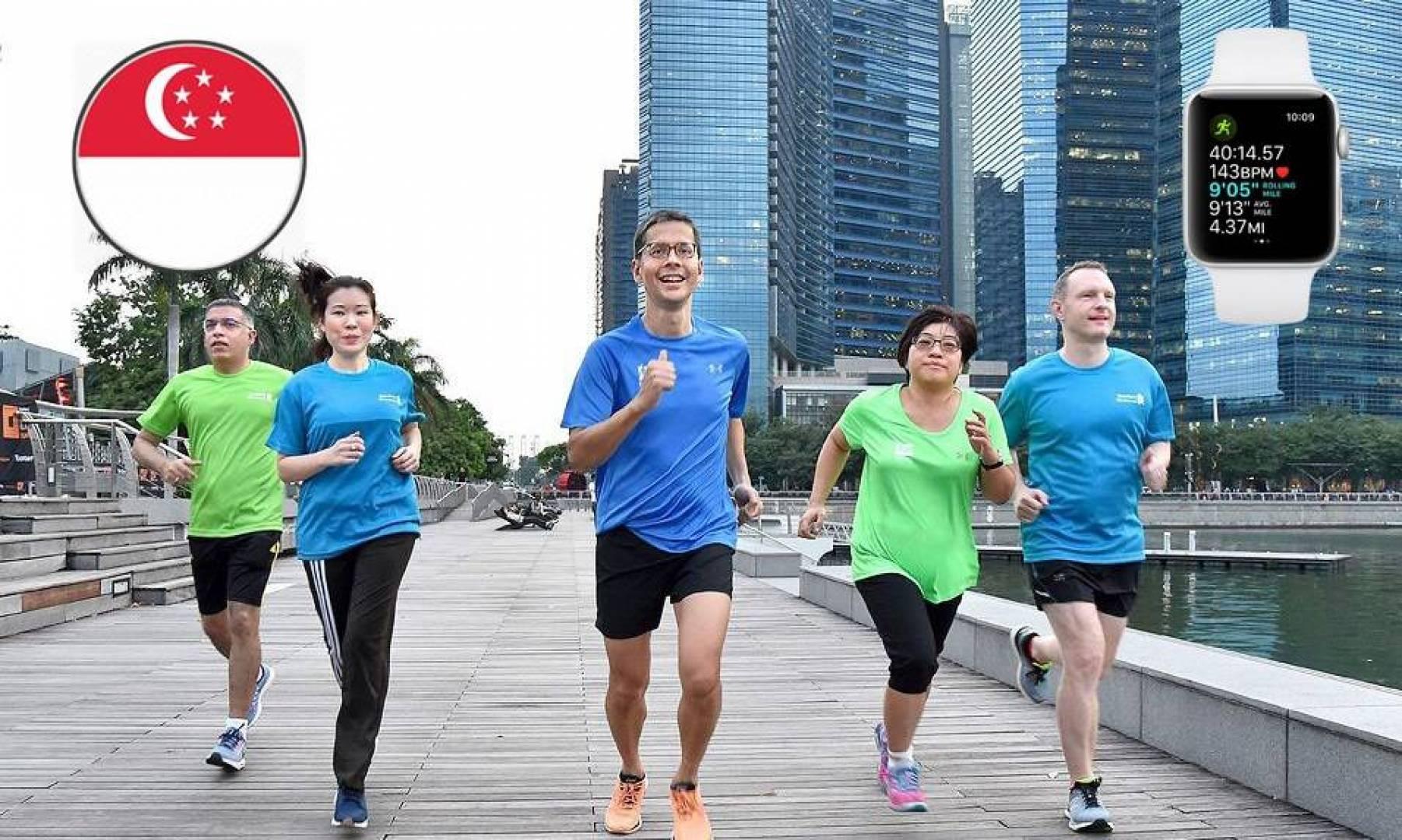 سنغافورة تدفع الأموال لمواطنيها مقابل الحفاظ على صحتهم باستخدام Apple Watch