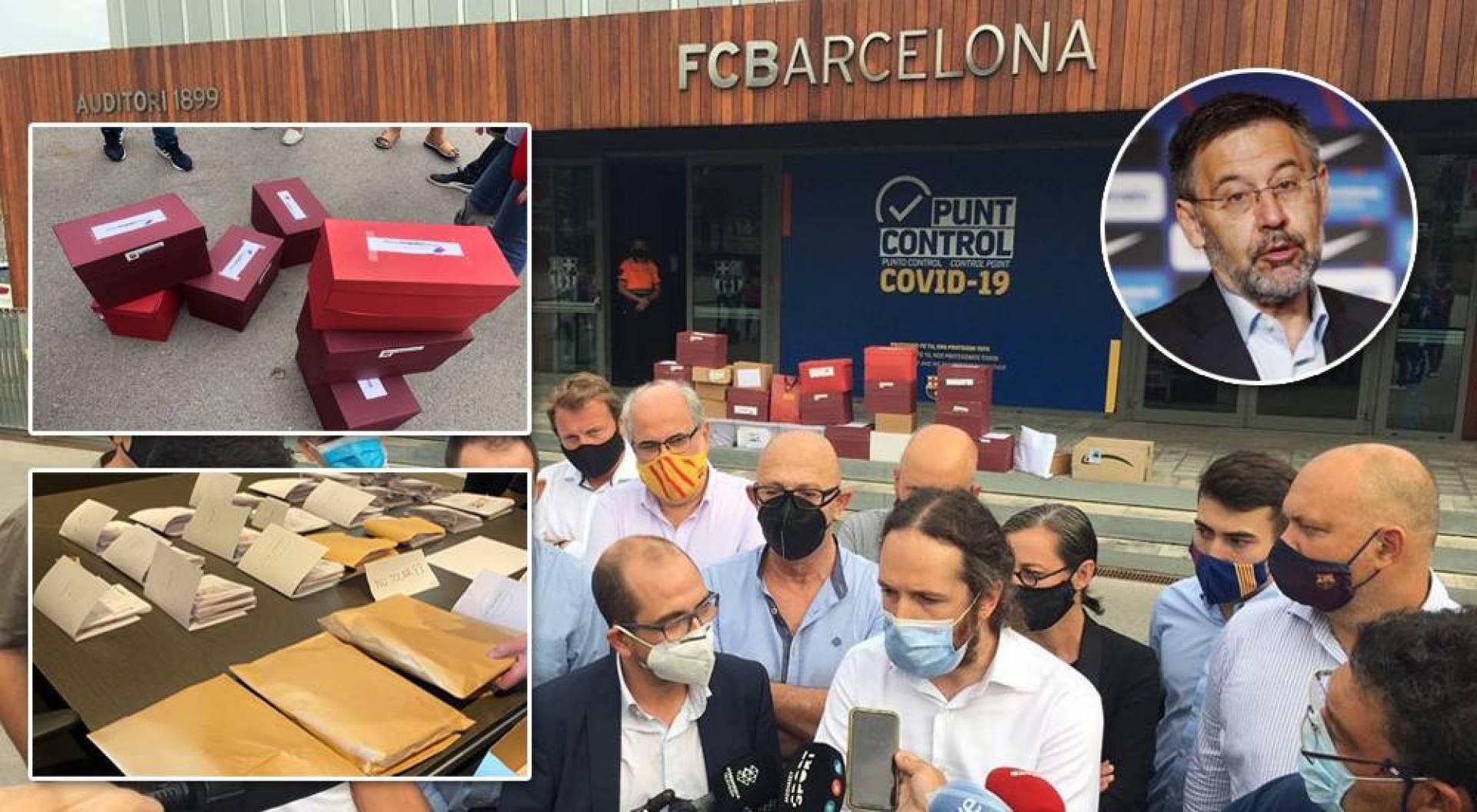 رئيس برشلونة يقترب من الرحيل.. حملة حجب الثقة عن بارتوميو تنجح بجمع 20731 توقيعاً