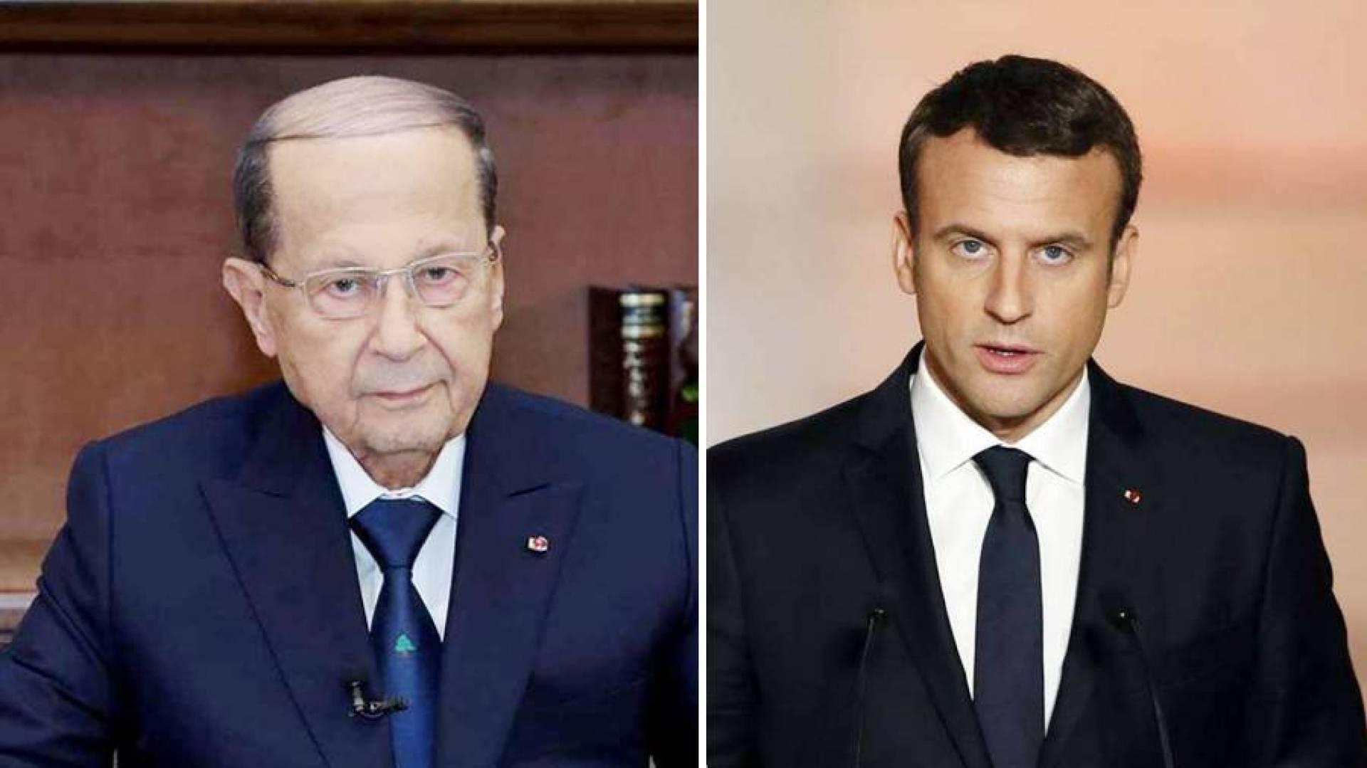 ماكرون: ضرورة المضي في جهود تشكيل حكومة لإخراج لبنان من أزمته الحالية