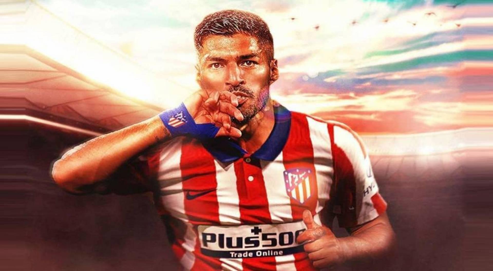 سواريز إلى أتلتيكو مدريد لمدة عامين بنصف راتبه في كاتالونيا