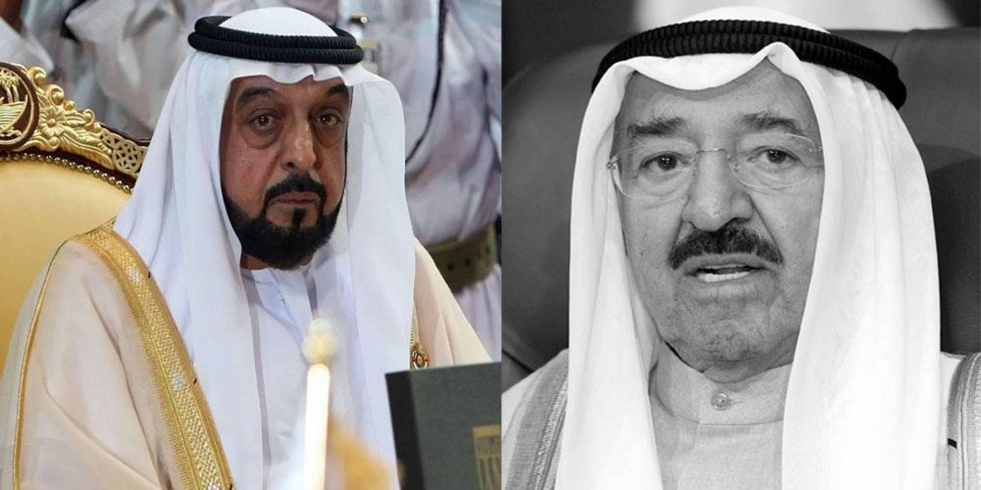 رئيس الإمارات ينعى سمو الأمير ويعلن الحداد وتنكيس الأعلام 3 أيام