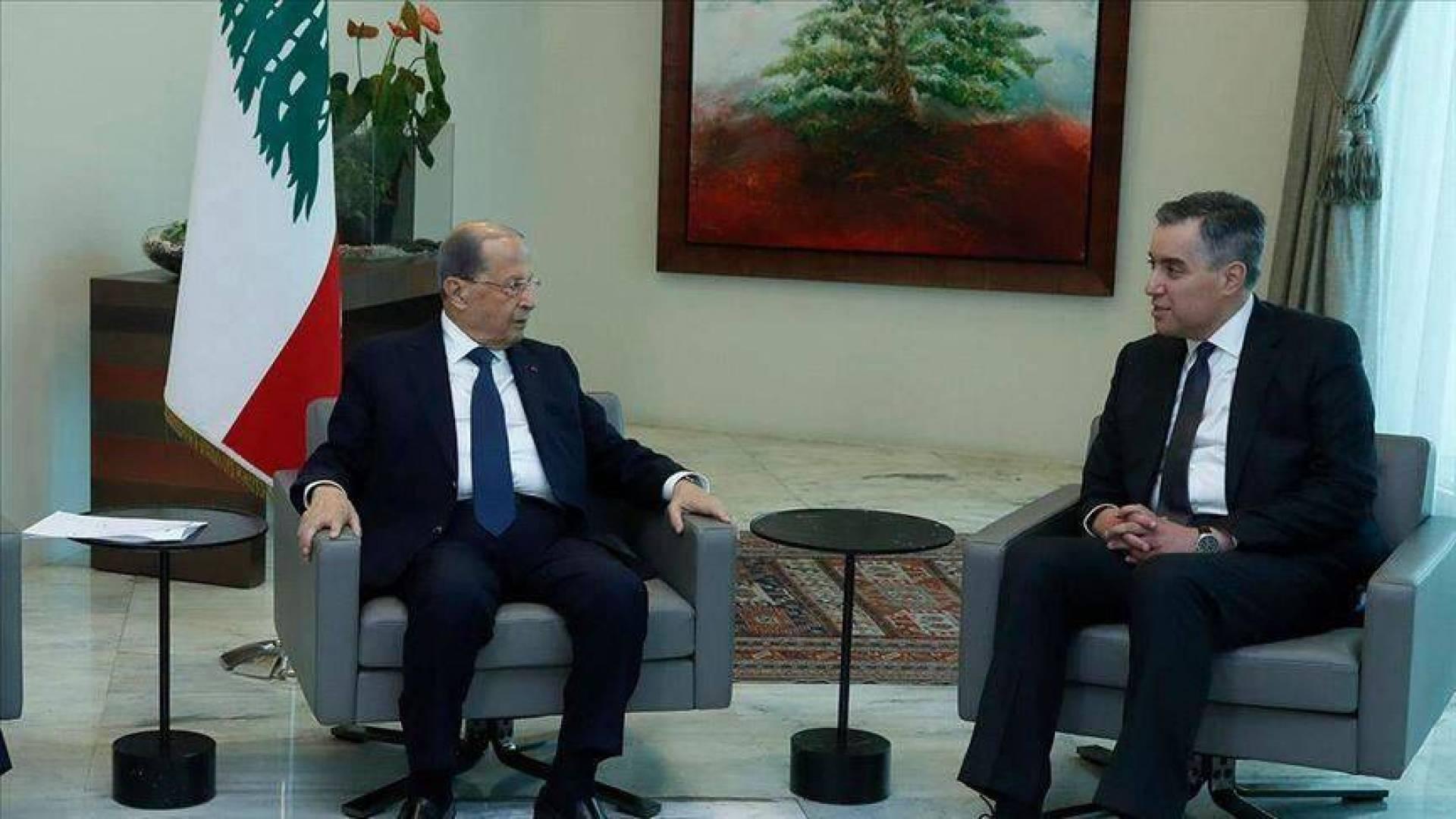 الرئيس اللبناني يقبل اعتذار أديب عن تشكيل الحكومة