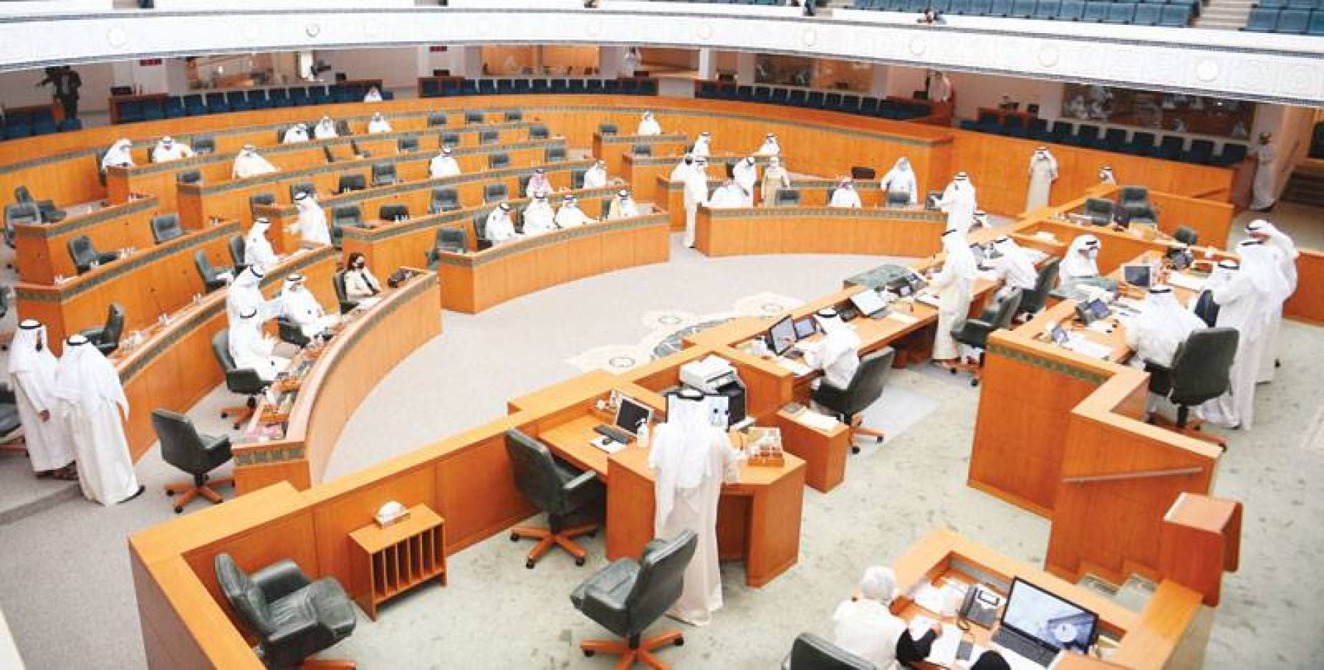 مجلس الأمة في جلسة الأمس (تصوير: حسني هلال)
