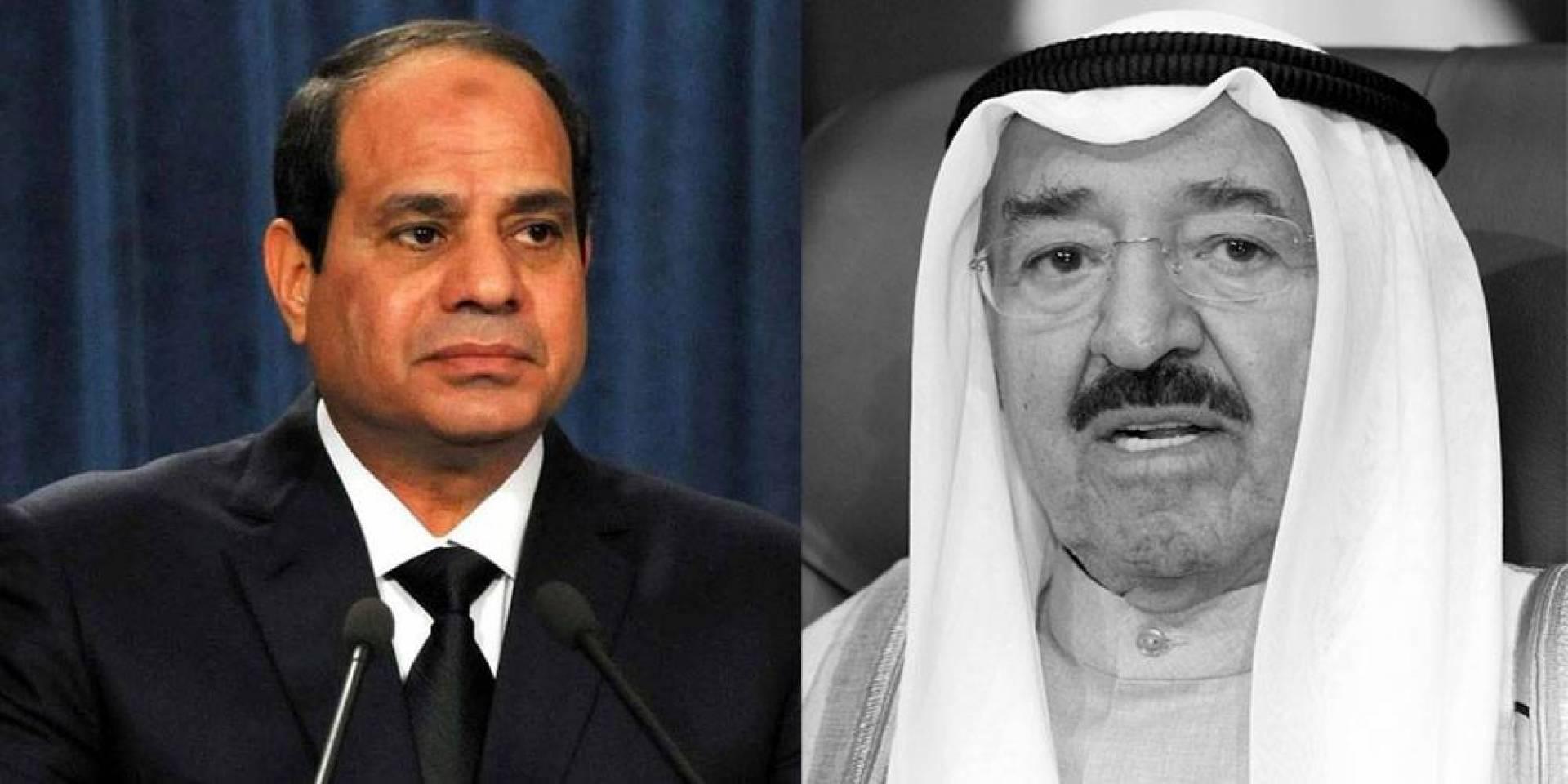 السيسي: بوفاة سمو الأمير فقدت الأمة العربية والإسلامية قائداً من أغلى رجالها