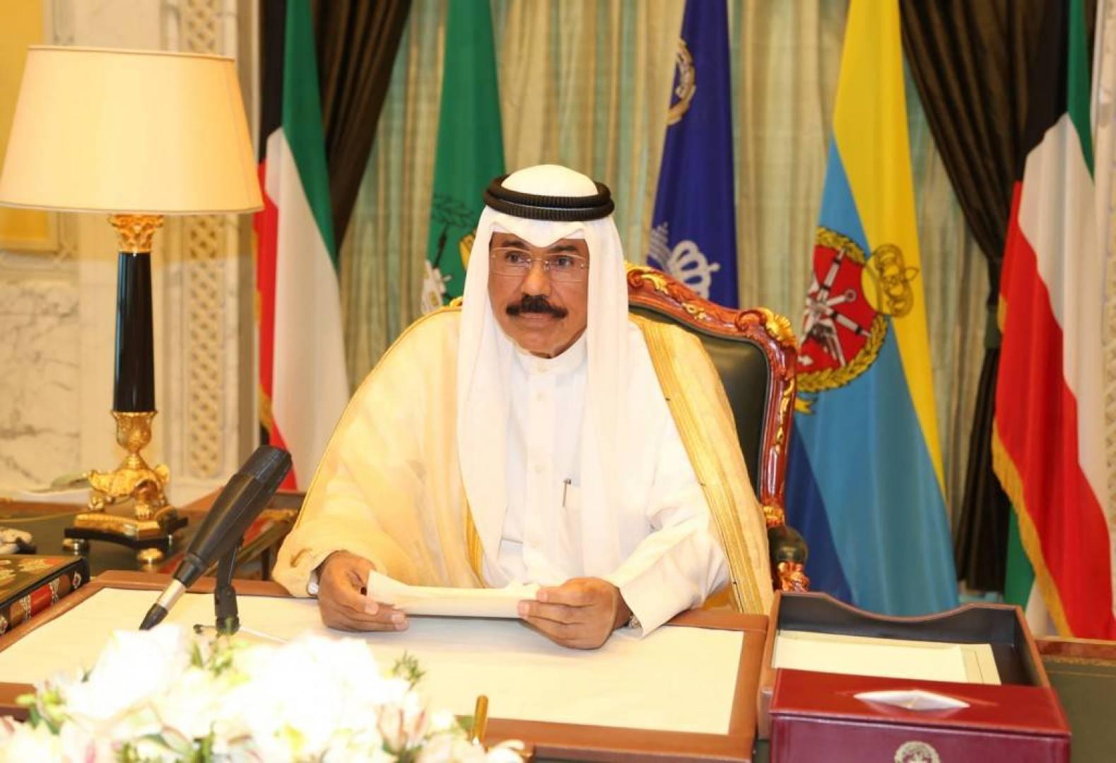 مجلس الوزراء ينادي سمو ولي العهد أميراً لدولة الكويت