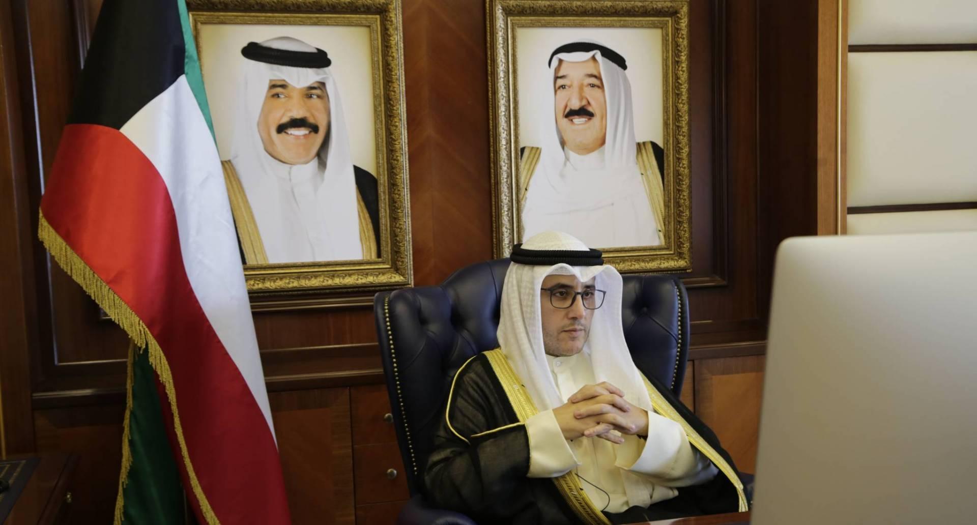وزير الخارجية: الكويت مُلتزمة بدعم وكالة الأونروا سياسياً ومادياً