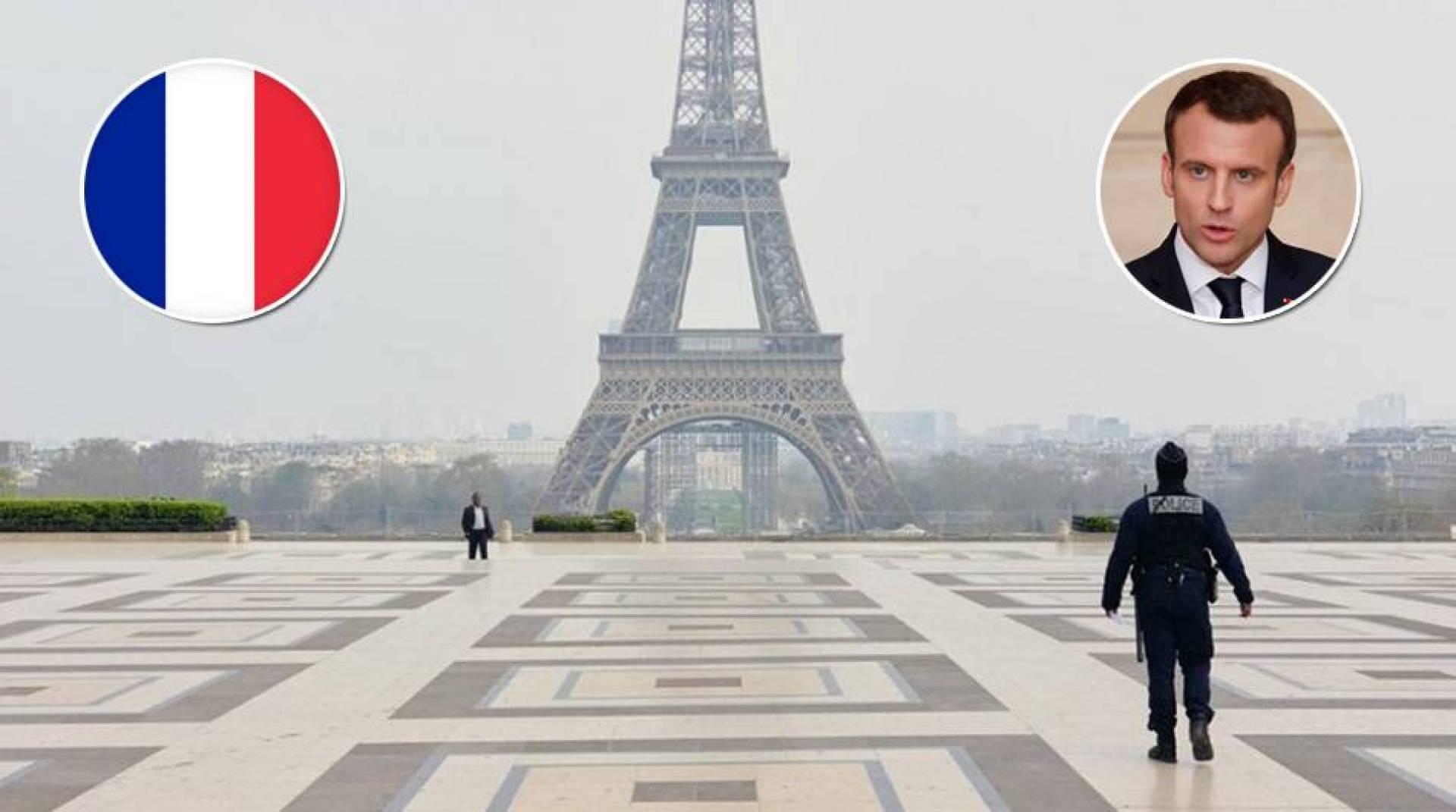 ماكرون يعلن حظر تجوال ليلي في باريس وعدد من المدن الفرنسية