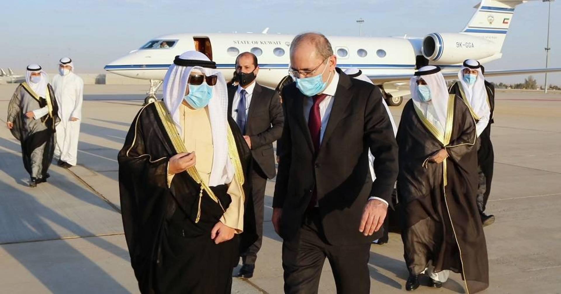 مبعوث سمو الأمير يصل إلى الأردن: تنسيق وتشاور حول العديد من القضايا