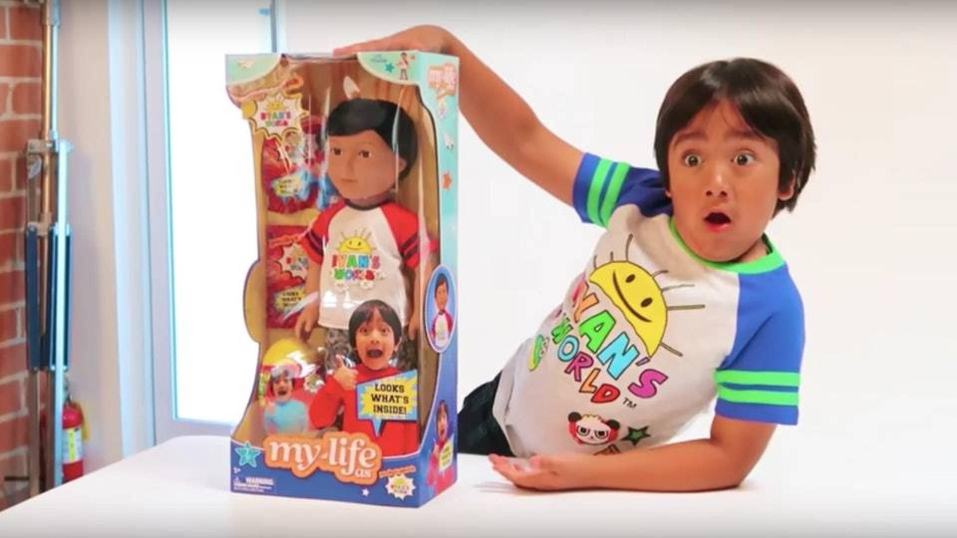 ريان كاجي.. أعلى نجوم «يوتيوب» دخلاً في العالم عمره 8 سنوات