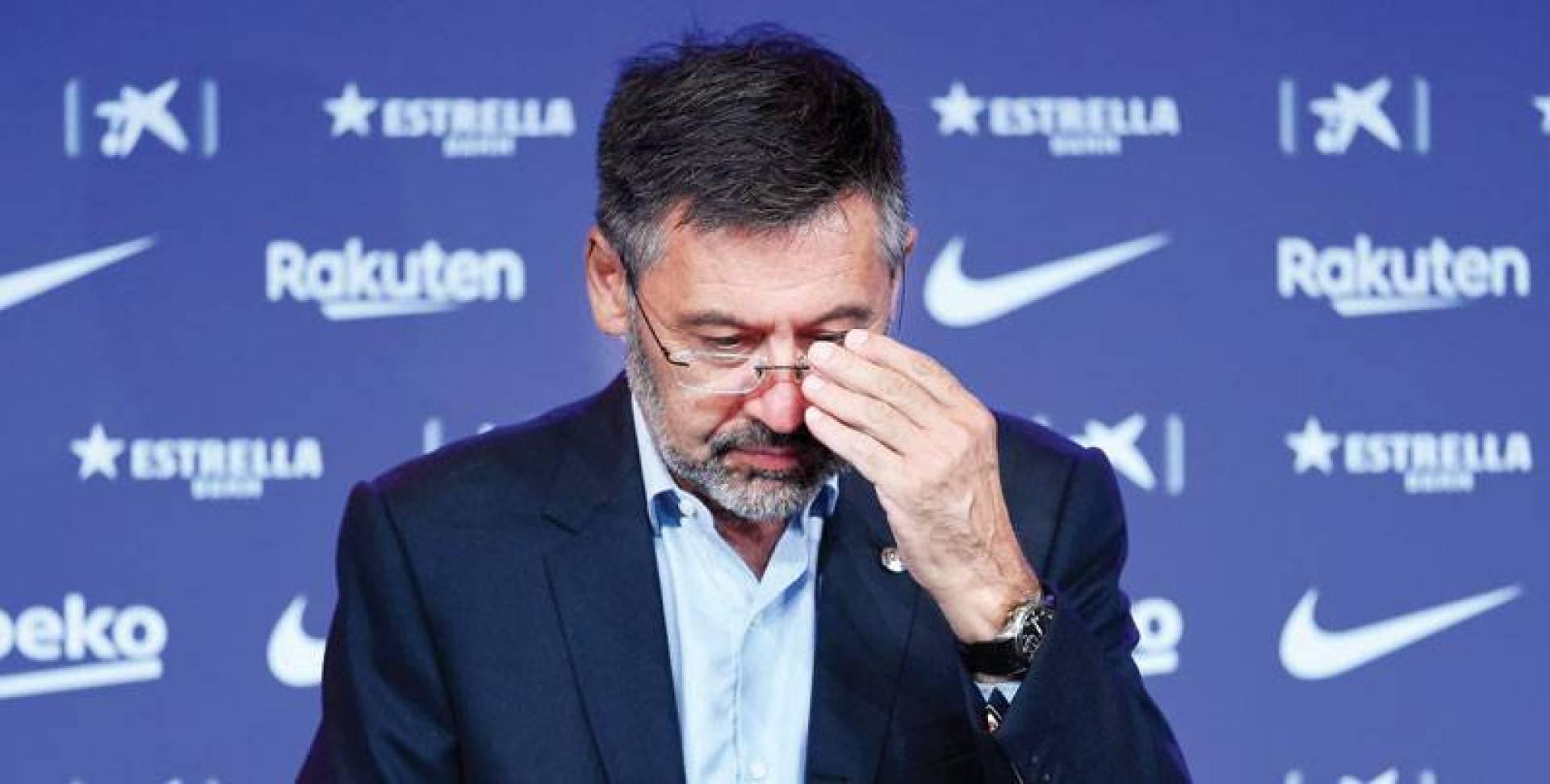 بارتوميو قرر أخيراً الاستقالة