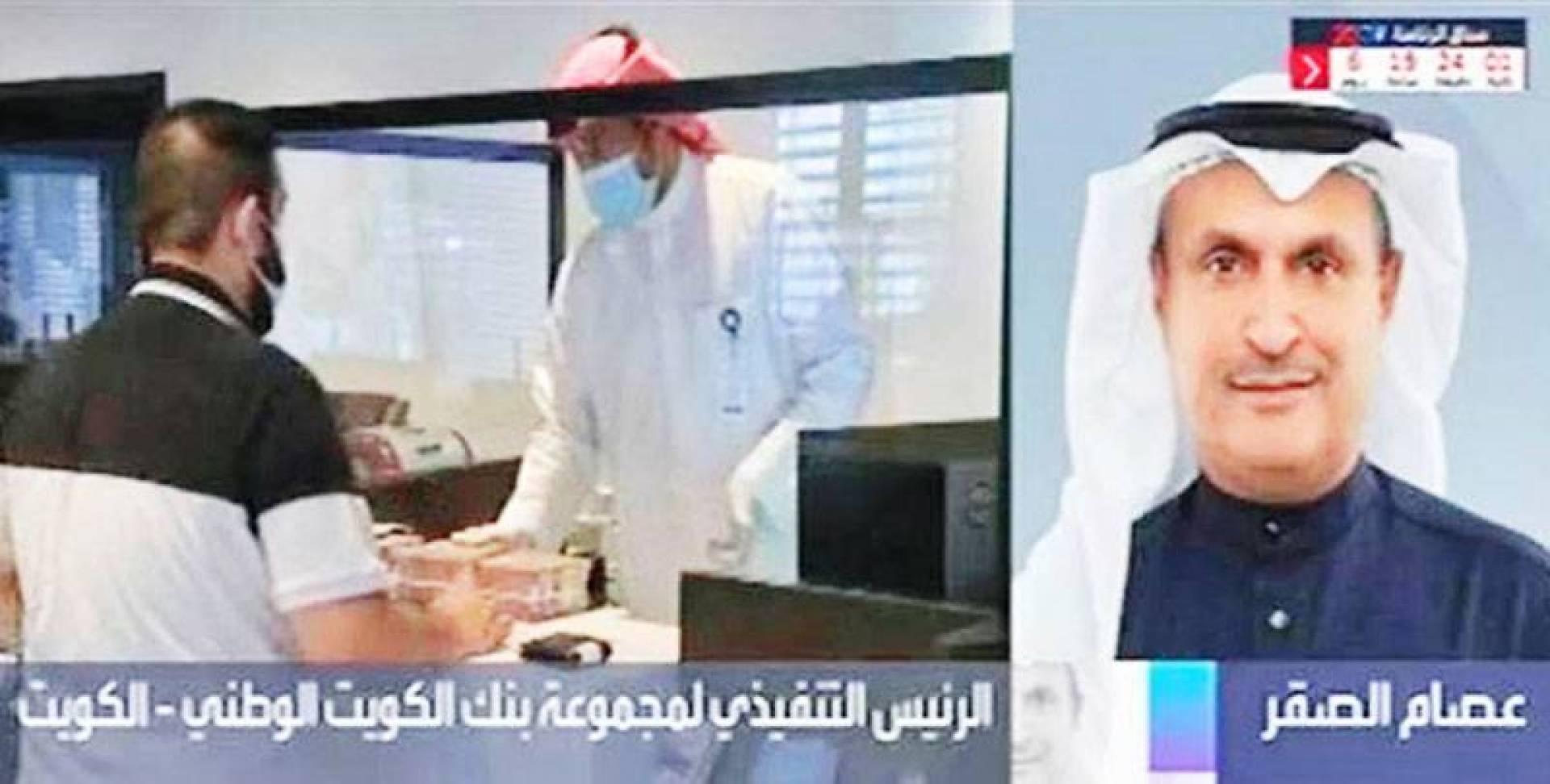 عصام الصقر متحدثاً لقناة العربية